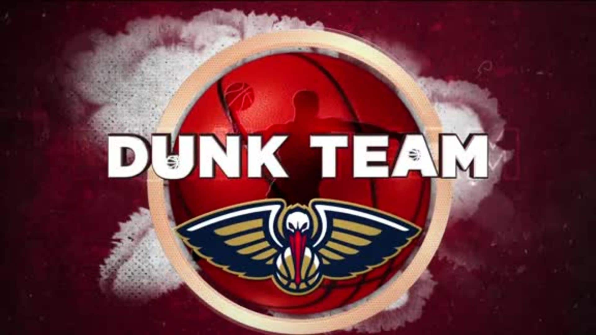 Entertainment: Pelicans Dunk Team 4th quarter performance - January 18 vs. L.A. Clippers
