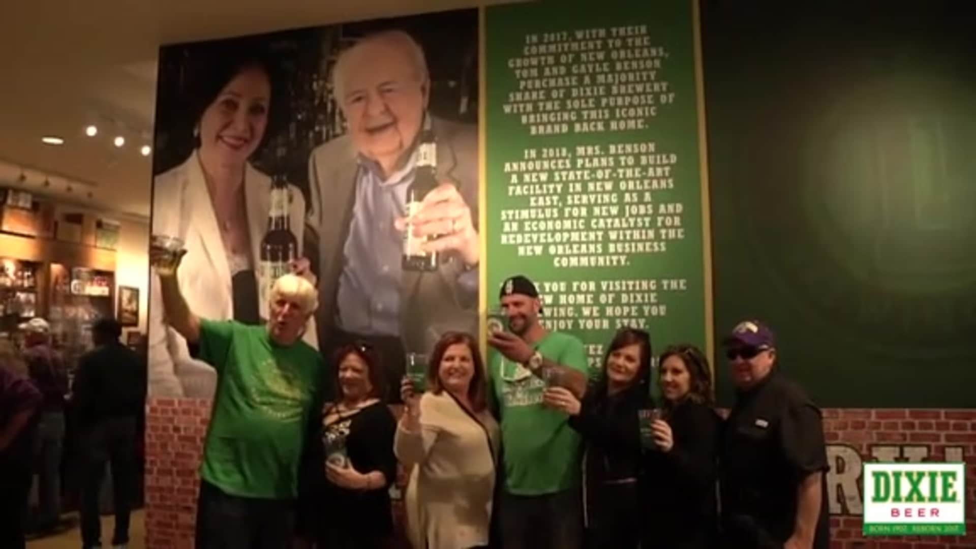 Pelicans owner Gayle Benson hosts Grand Opening of Dixie Beer Brewery