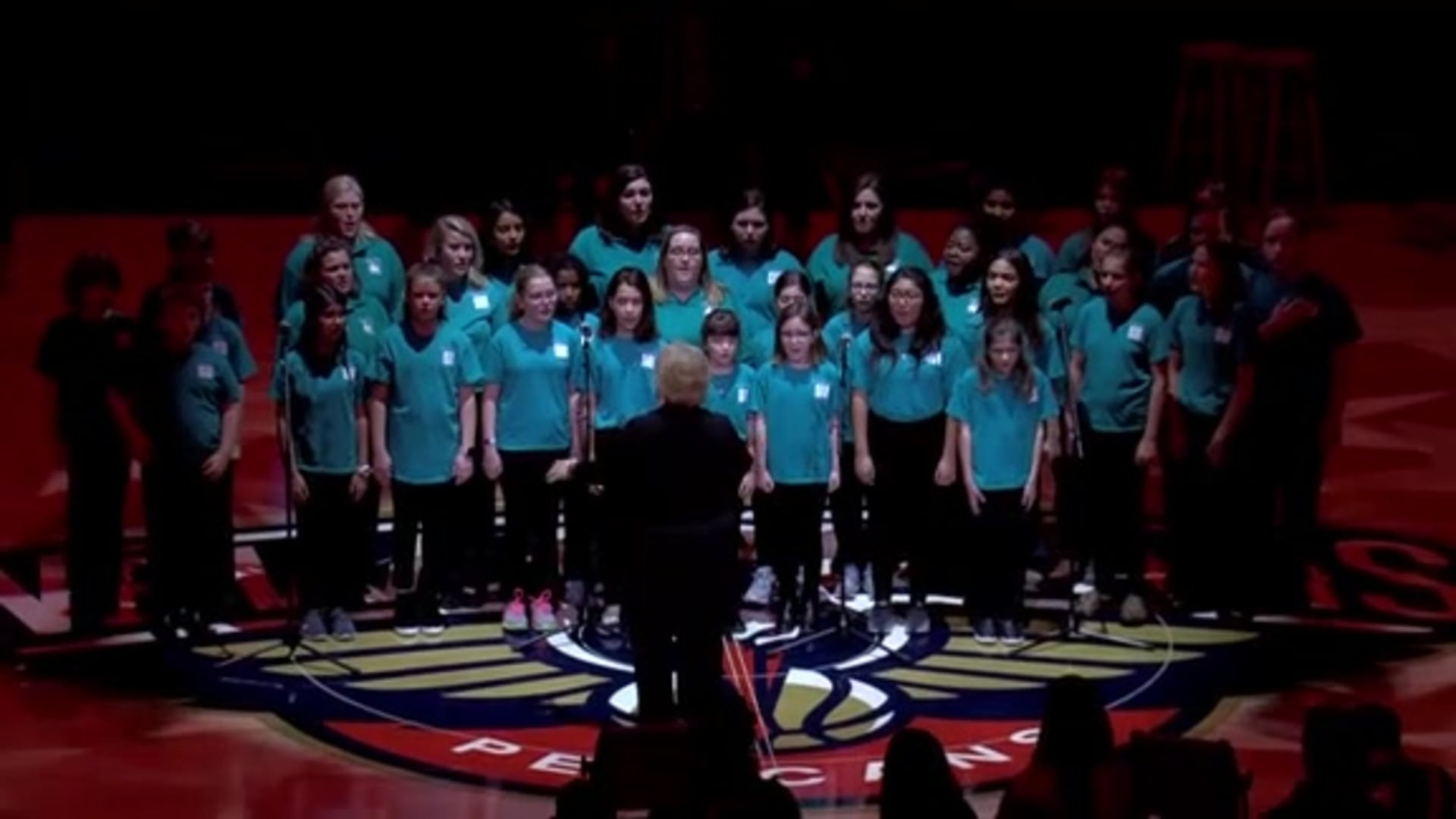 Entertainment: National Anthem performance by New Orleans Children's Choir – January 22 vs. San Antonio Spurs