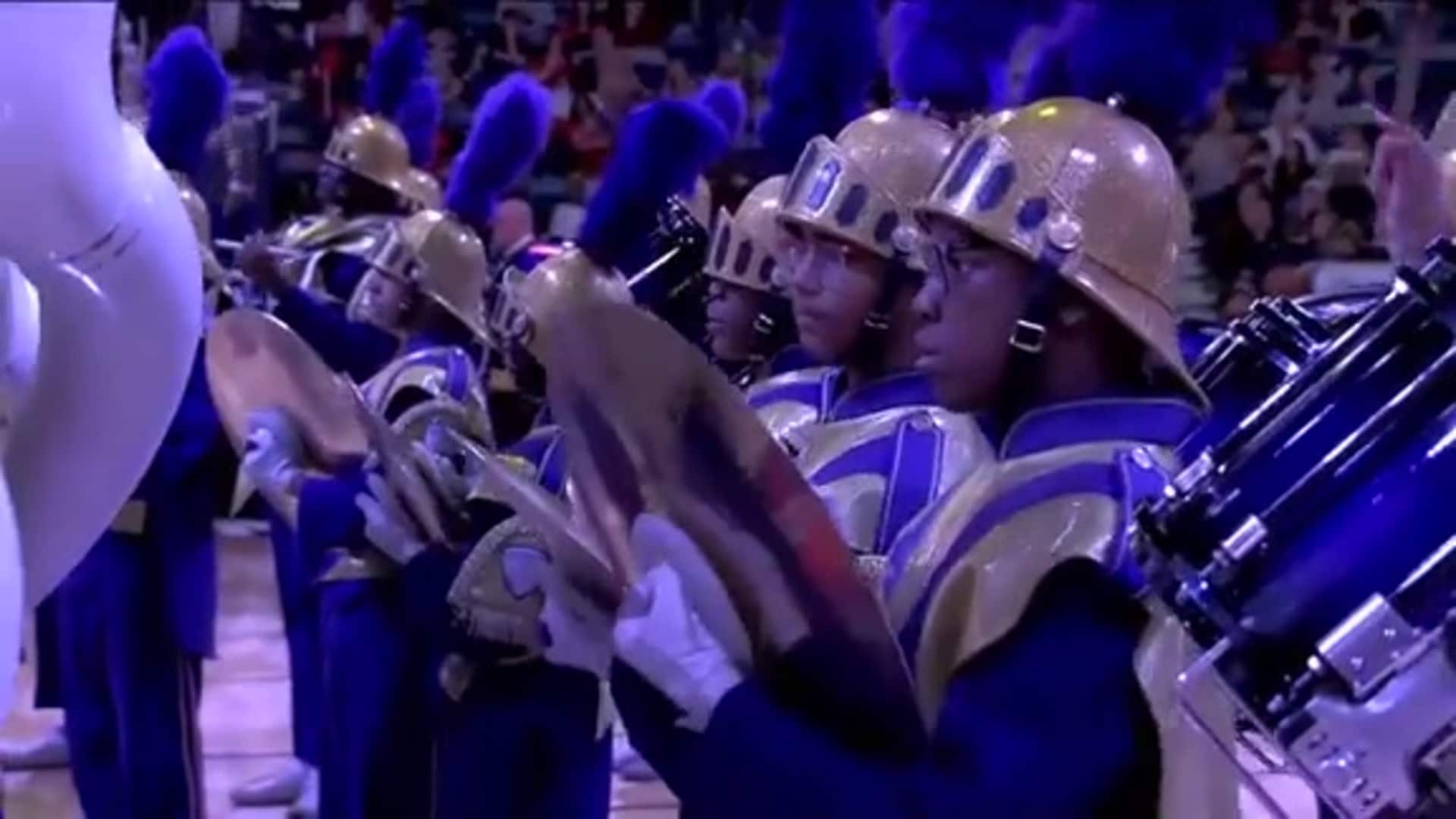 Pelicans Halftime: St. Aug Marching 100 Band - January 24, 2020 vs. Denver Nuggets