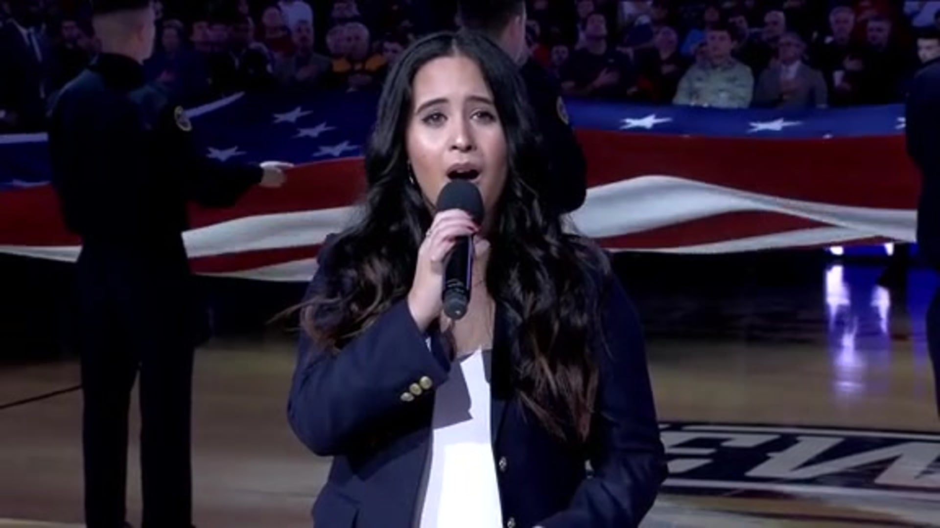 Entertainment: National Anthem performance by Francesca Ani – January 26 vs. Boston Celtics
