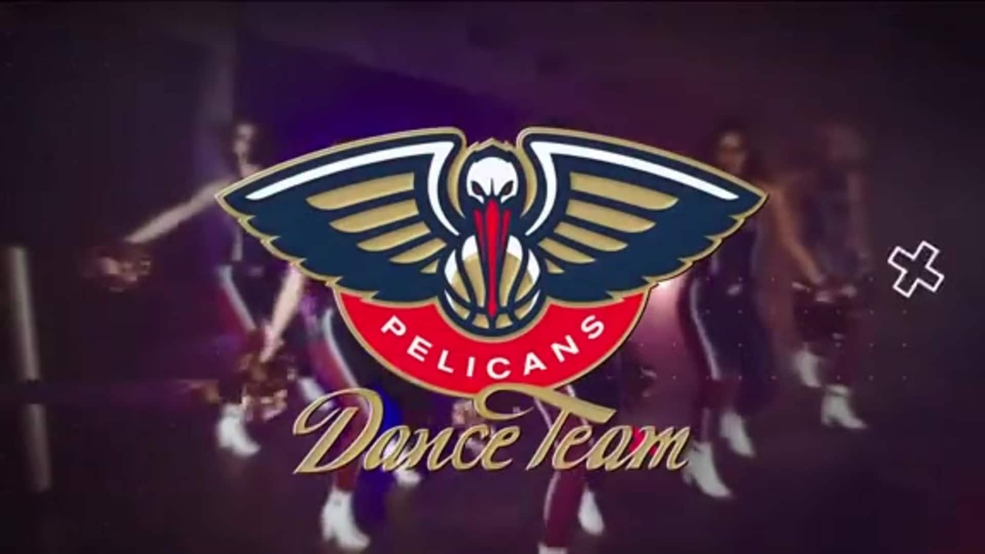 Entertainment: Pelicans Dance Team 2nd quarter performance - January 26 vs. Boston Celtics