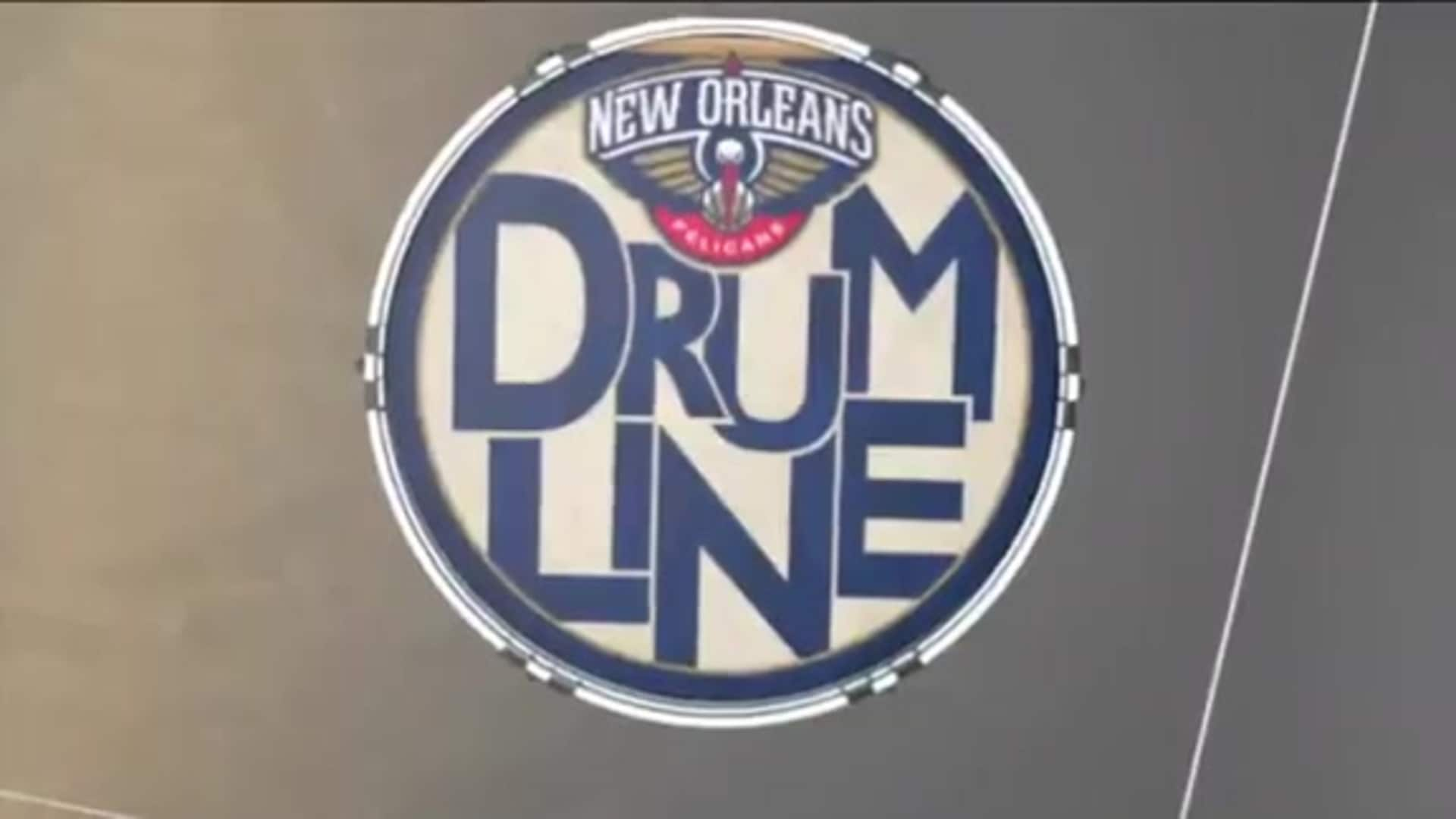 Entertainment: The Pelicans Drum Line performance - January 26, 2020 vs. Boston Celtics