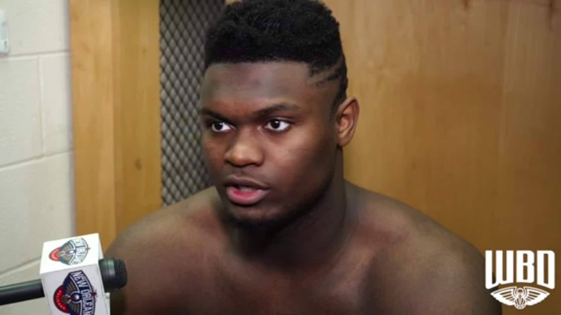 Pelicans-Rockets Postgame: Zion Williamson 2-2-2020