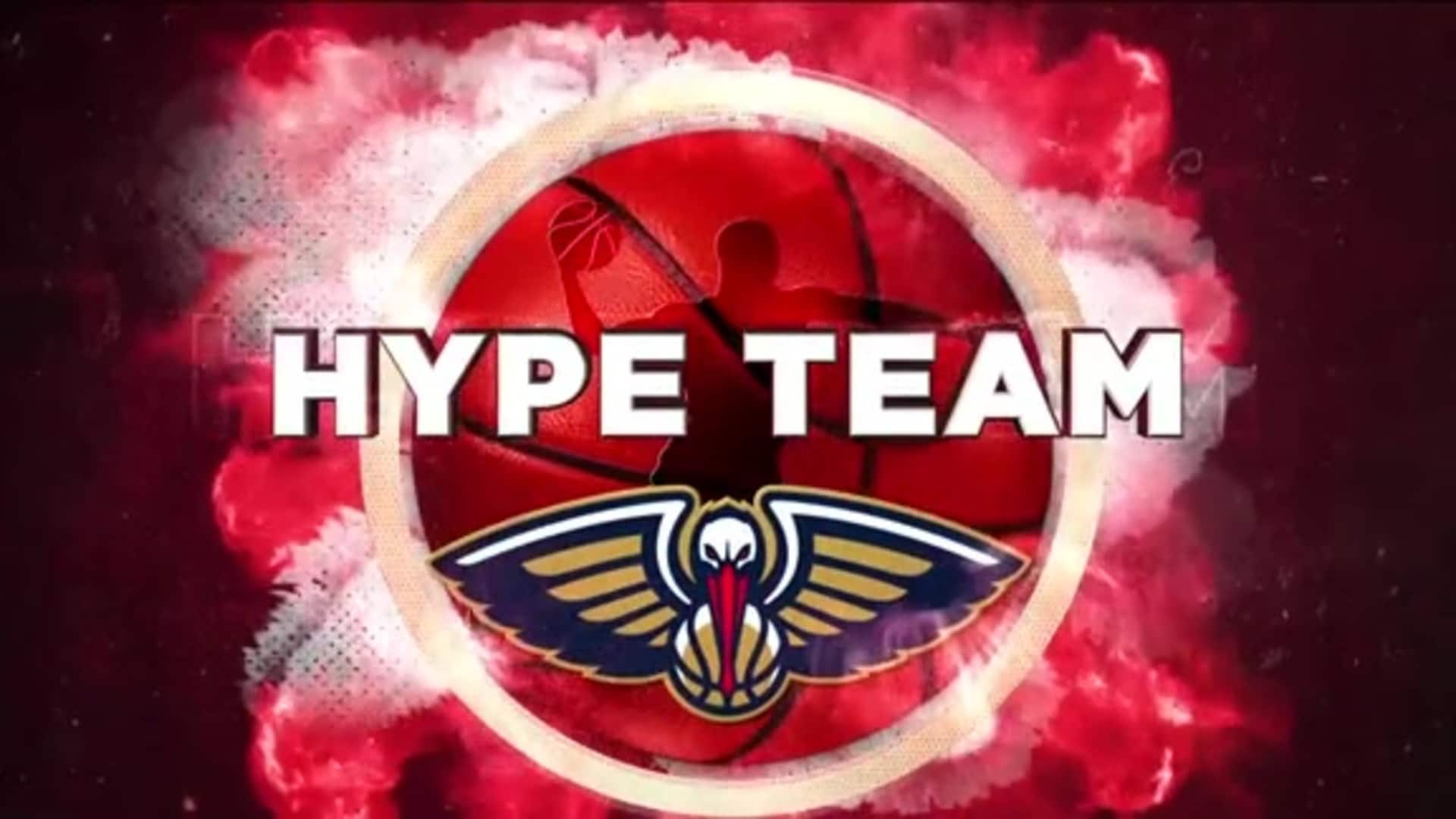Entertainment: Pelicans Dance & Hype Team 2nd quarter performance - January 31 vs. Memphis Grizzlies