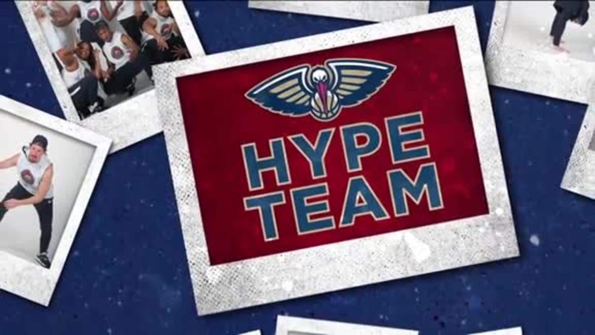 Entertainment: Pelicans Hype Team 2nd quarter performance - February 4 vs. Milwaukee Bucks