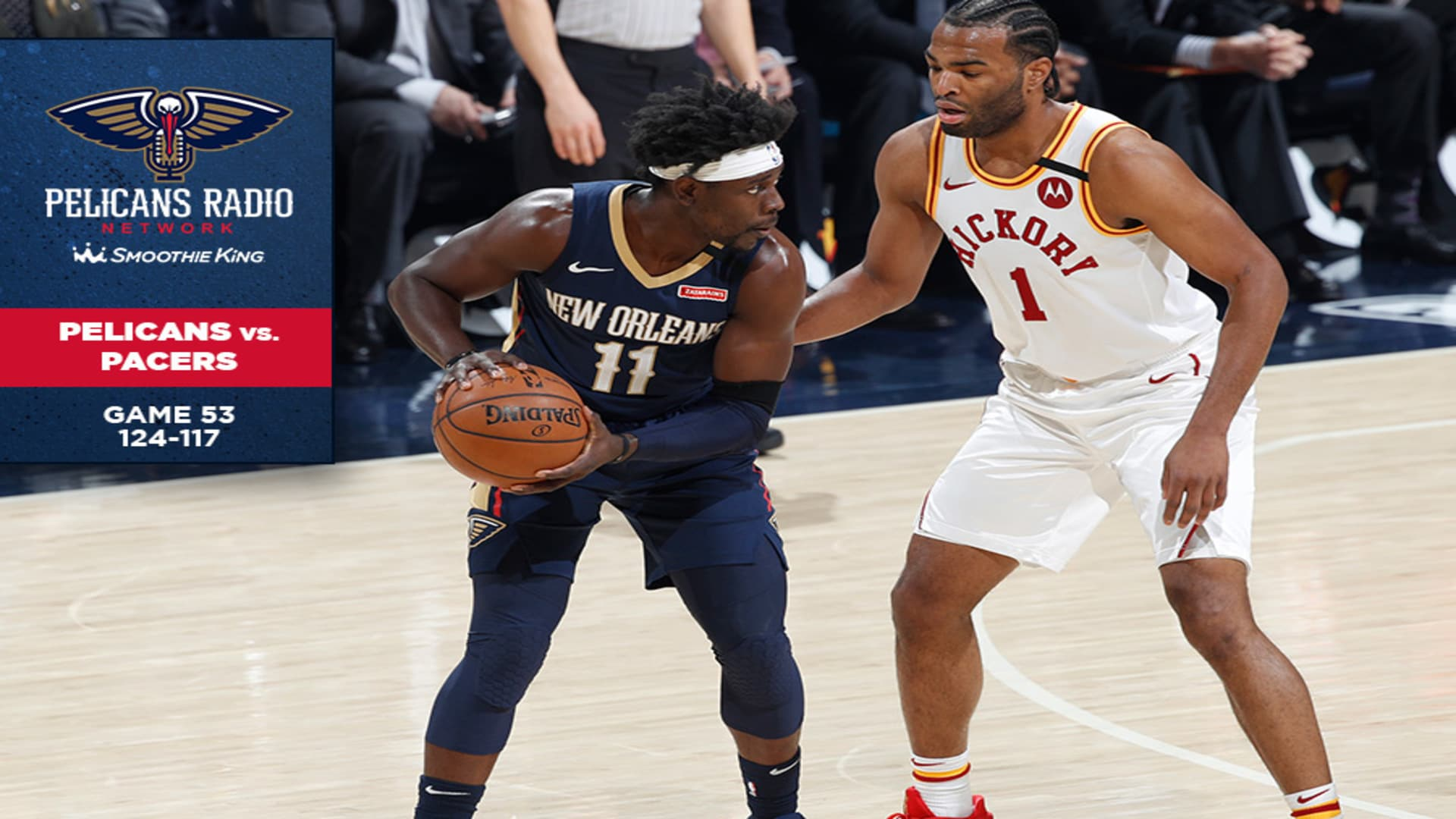 Calls of the Game: New Orleans Pelicans vs Indiana Pacers - Game 53 - Feb. 8, 2020