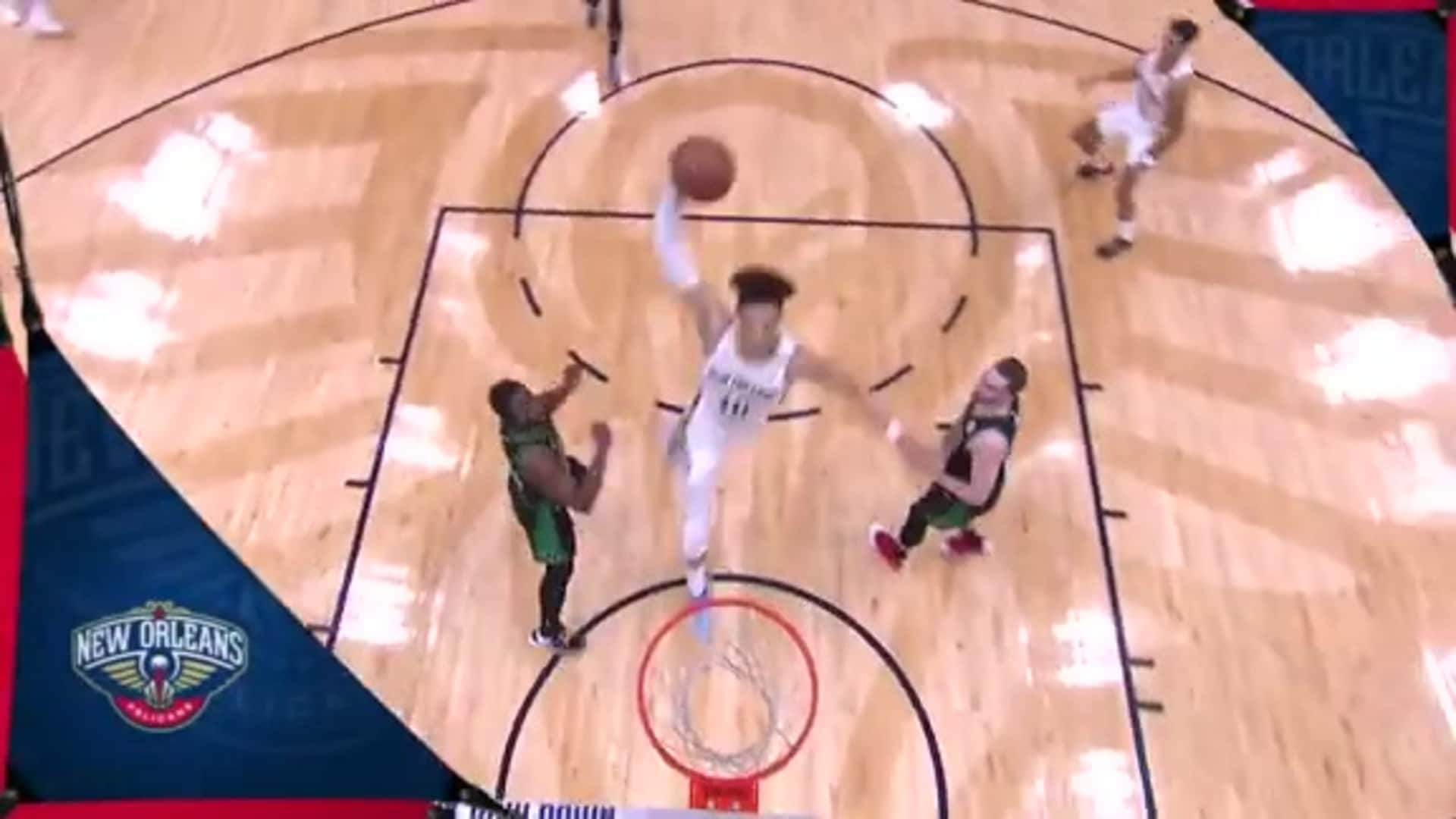 Pelicans Top 5 Dunks heading into All-Star Weekend 2020