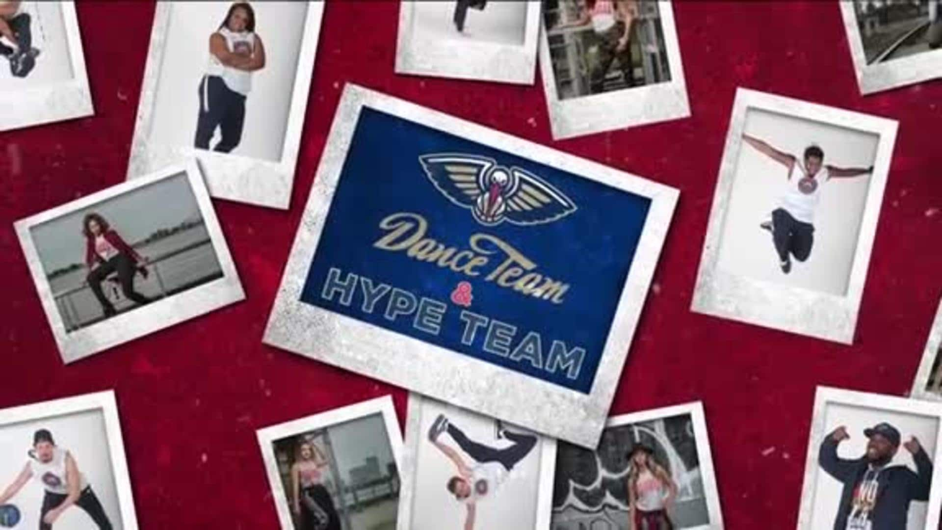 Entertainment: Pelicans Dance & Hype Team 3rd quarter performance - February 13 vs. Oklahoma City Thunder