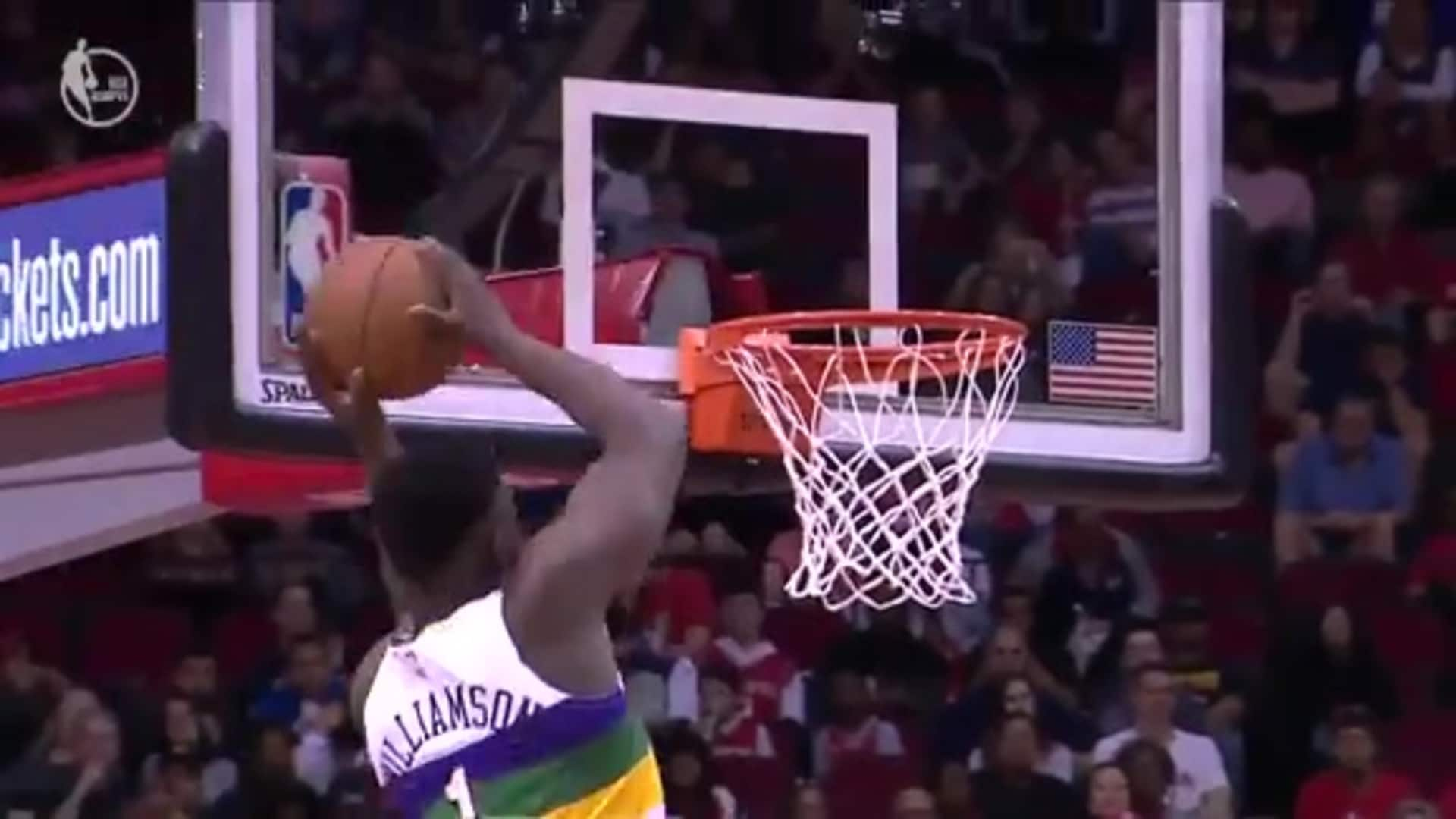 Highlights of Zion Williamson's best plays so far in 2019-20