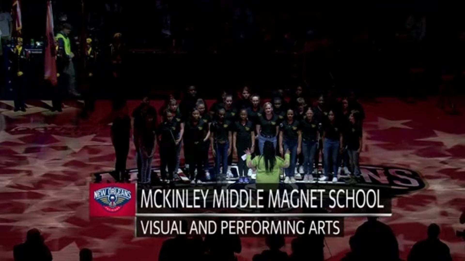 Entertainment: National Anthem performance by McKinley Middle Magnet School – February 28 vs. Cleveland Cavaliers