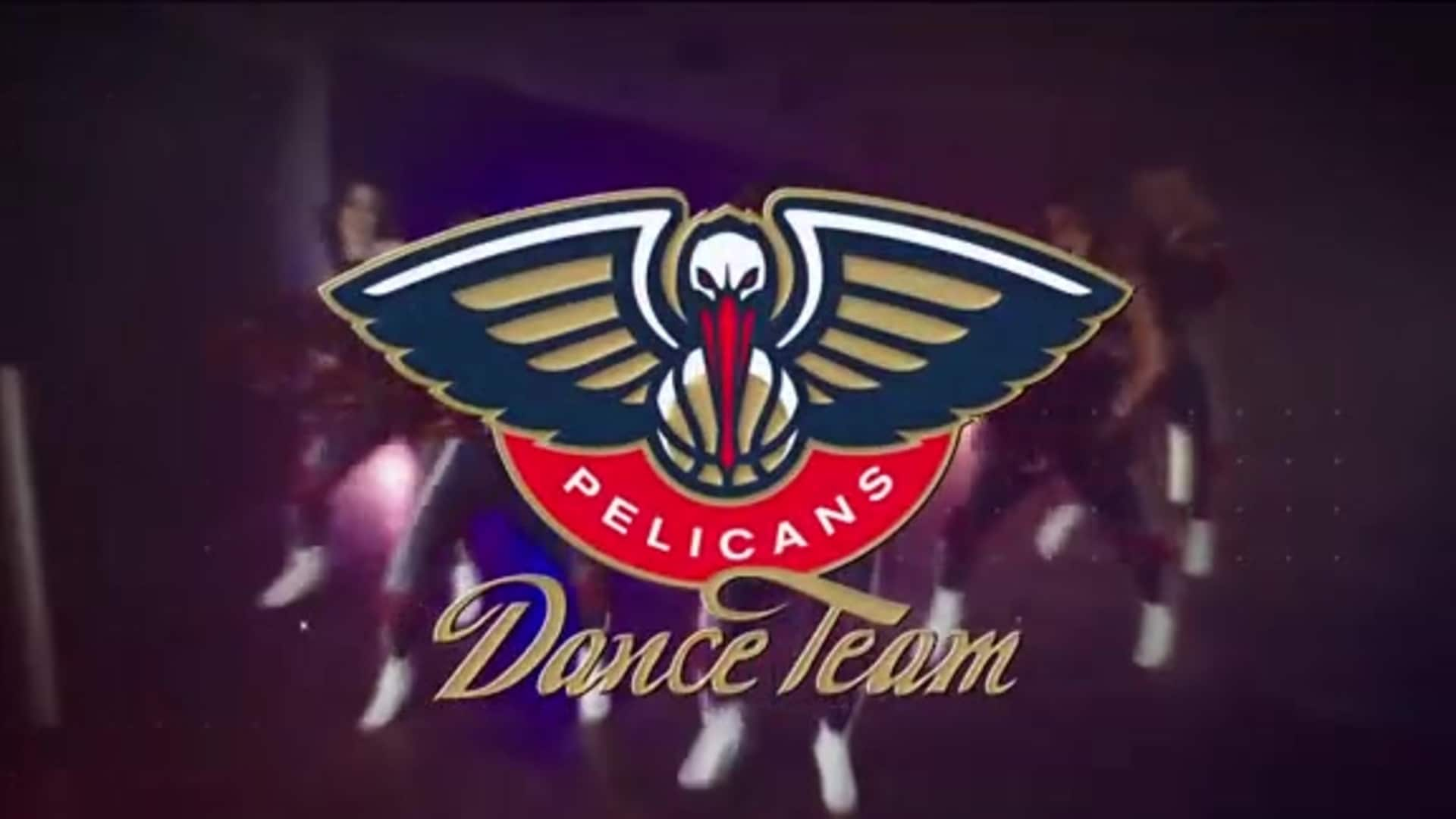 Entertainment: Pelicans Dance Team 2nd quarter performance - February 28 vs. Cleveland Cavaliers