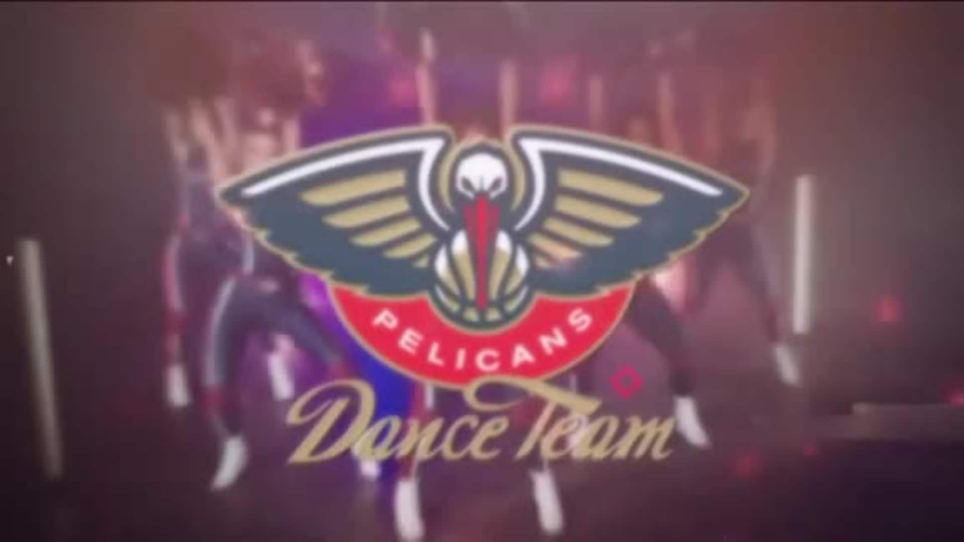 Entertainment: Pelicans Dance Team 2nd quarter performance - March 3 vs. Minnesota Timberwolves