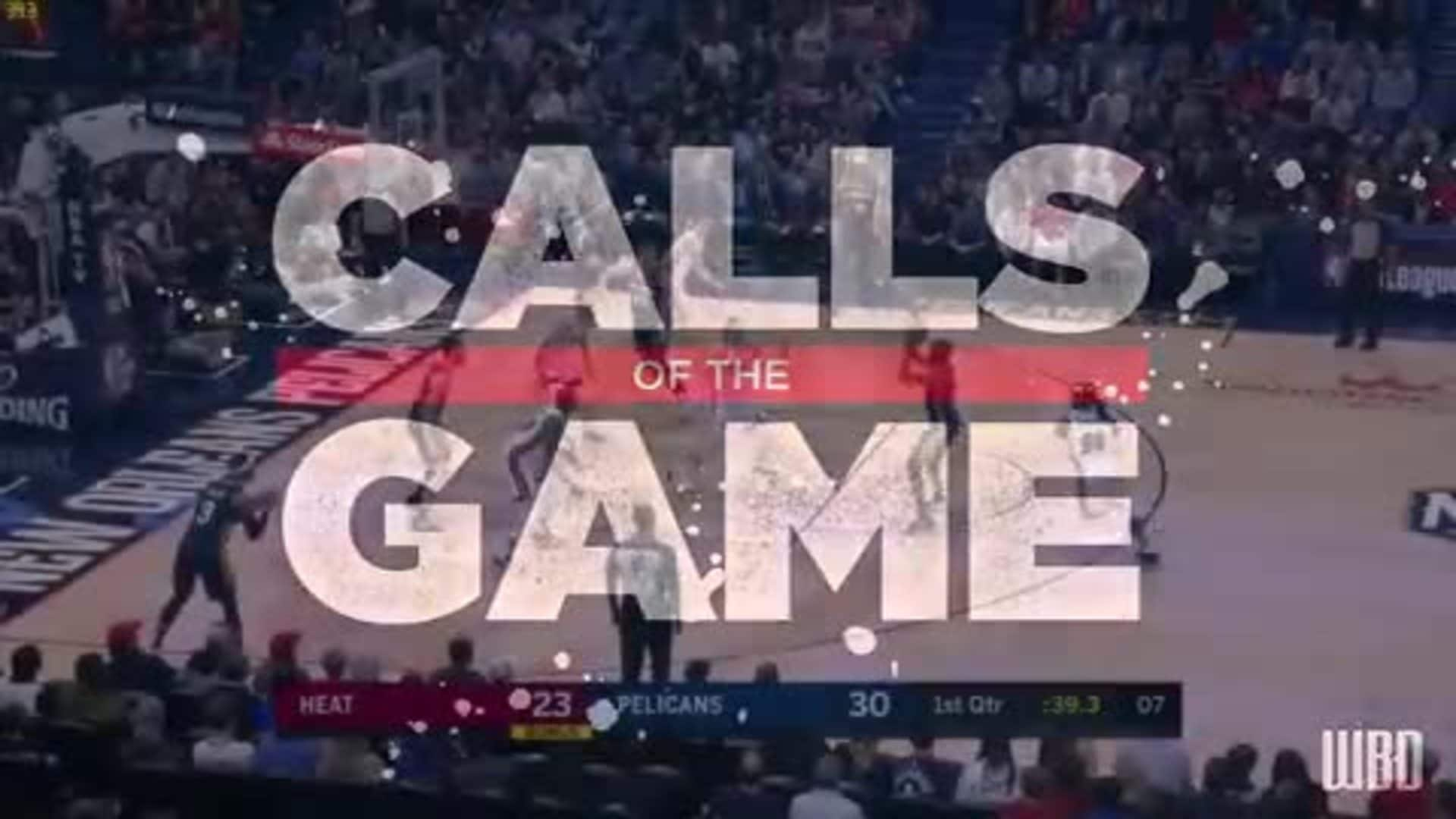 Calls of the Game: New Orleans Pelicans vs Miami Heat - Game 63 - March 6, 2020