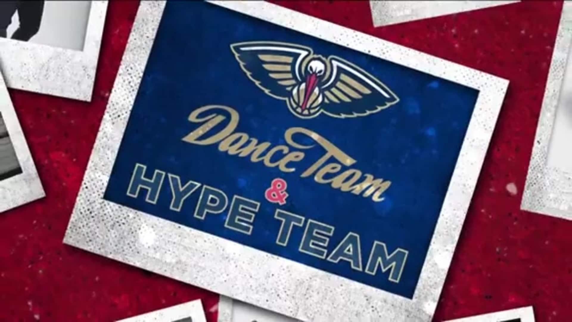 Entertainment: Pelicans Dance & Hype Team 2nd quarter performance - March 6 vs. Miami Heat