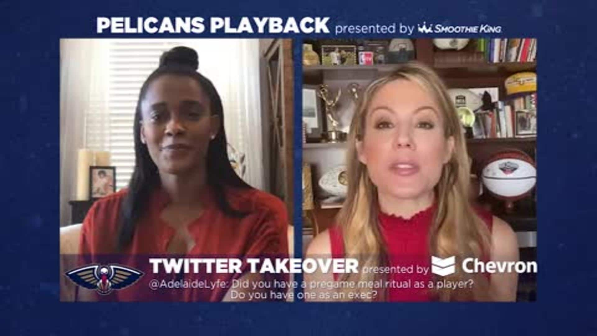 Pelicans Playback with Swin Cash and Jen Hale - 3/24/20