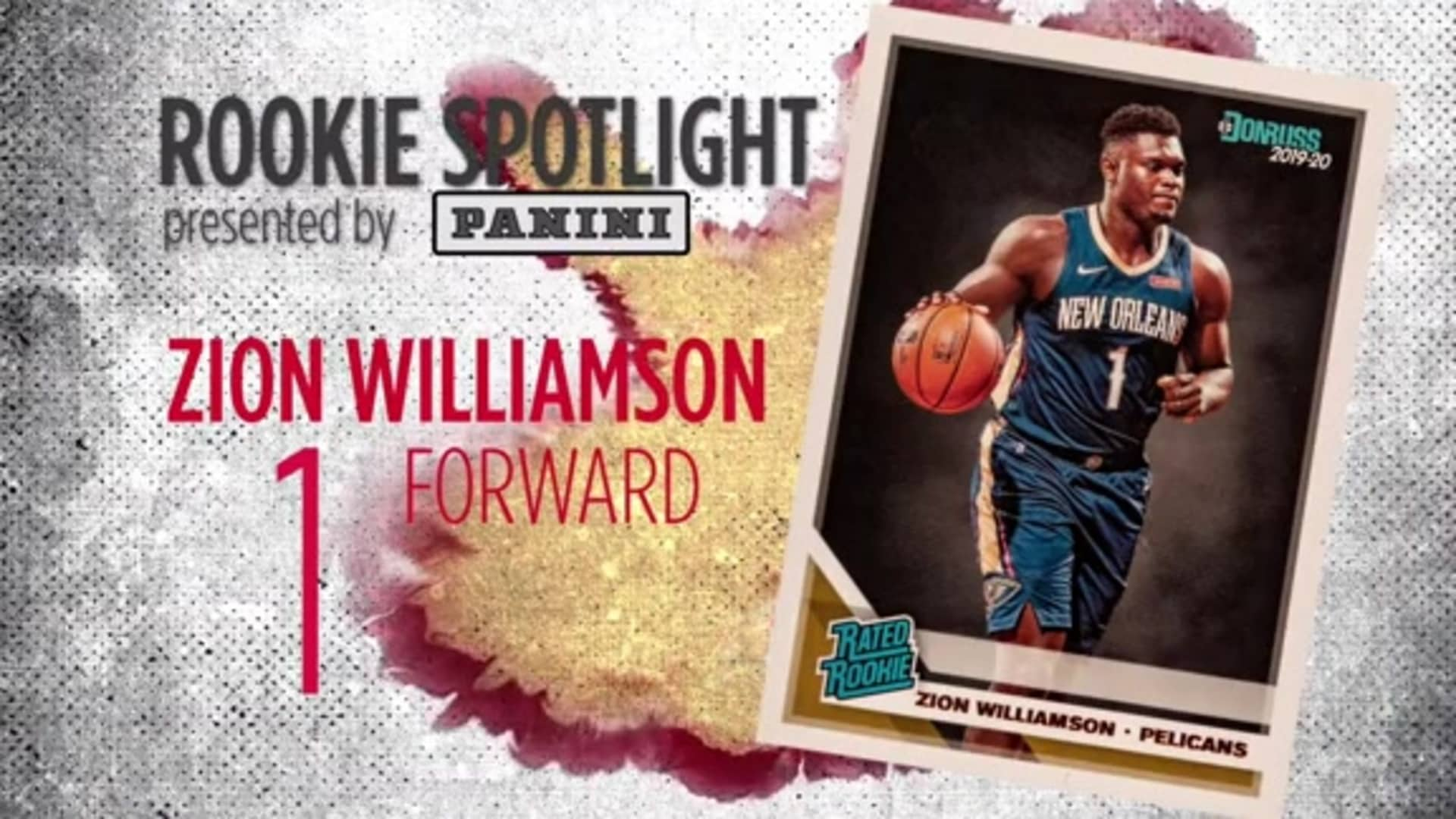 Pelicans Spotlight presented by Panini: Zion Williamson