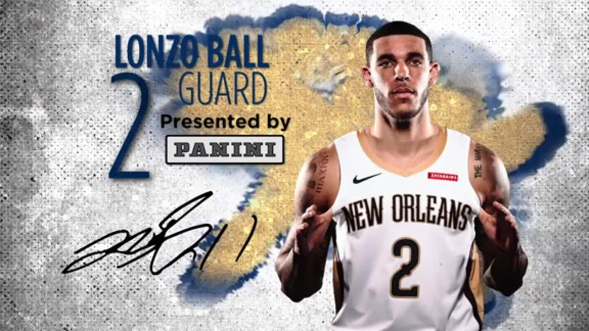 Pelicans Spotlight presented by Panini: Lonzo Ball