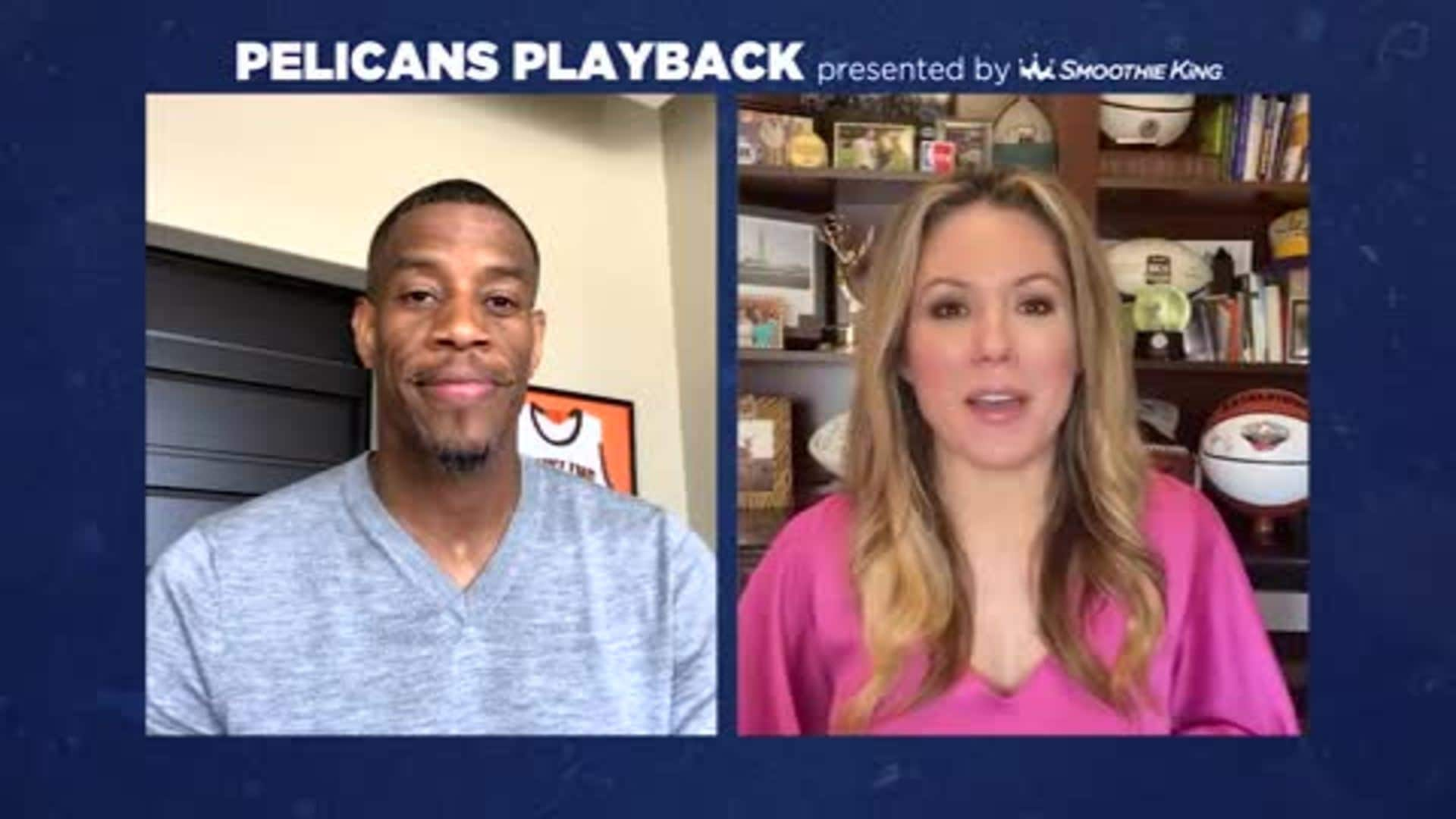 Pelicans Playback with Antonio Daniels and Jen Hale - 3/29/20