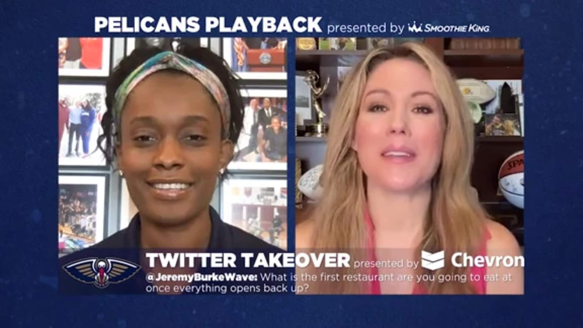 Pelicans Playback with Swin Cash and Jen Hale 4/13/20