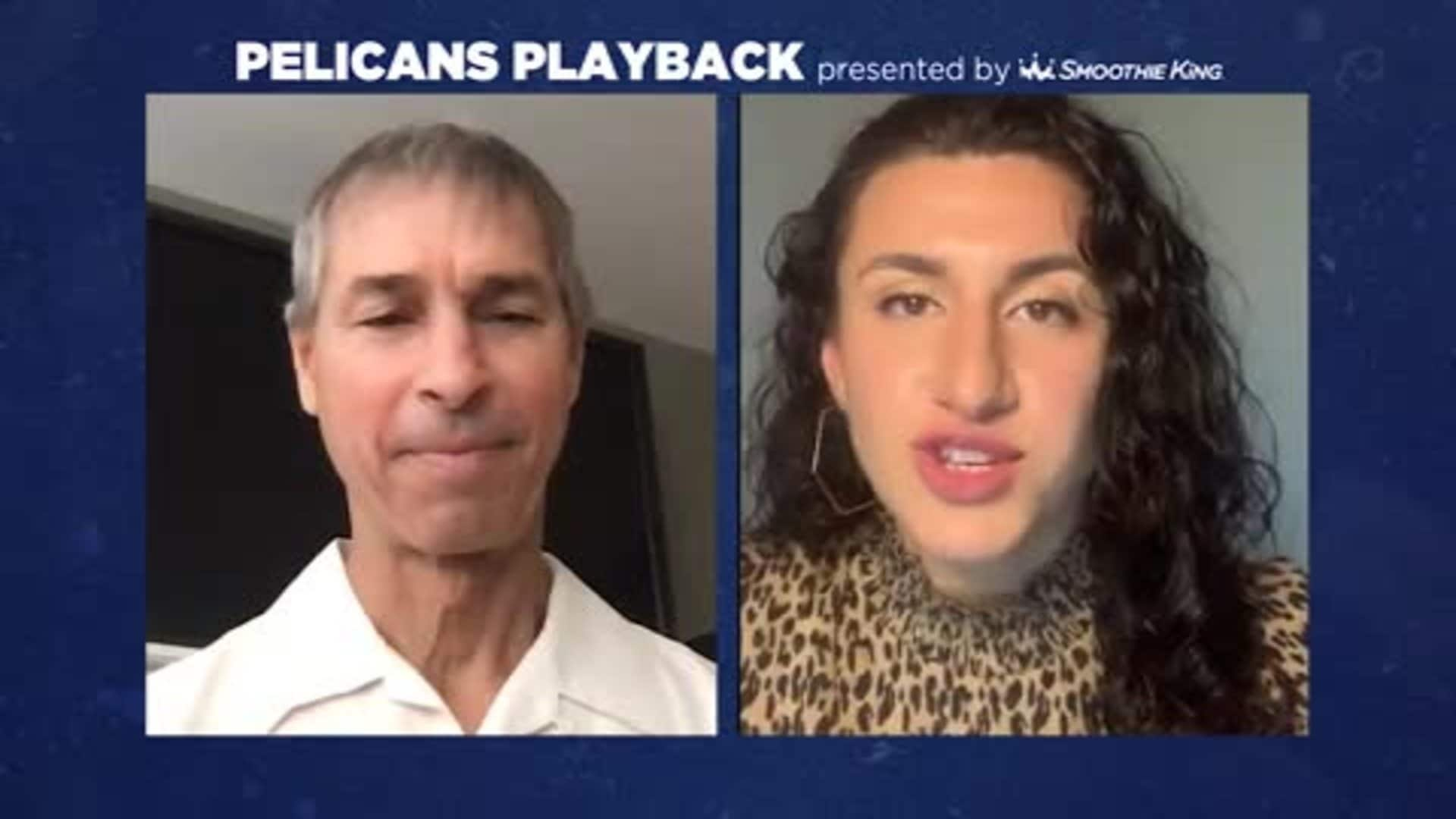 Pelicans Playback with Jeff Bzdelik and Caroline Gonzalez - April 28, 2020