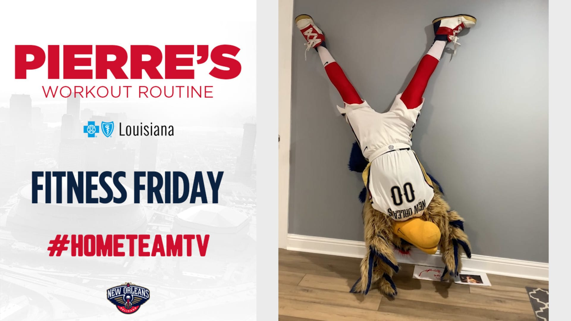 HomeTeamTV: Fitness Friday with Pierre, 5/1/20