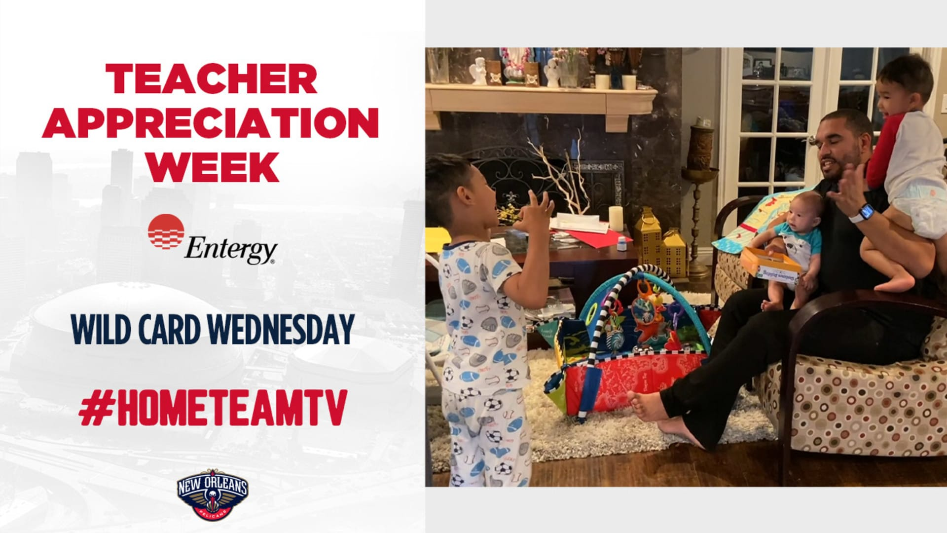 HomeTeamTV: Teacher Appreciation Week on Wild Card Wednesday, 5/6/20