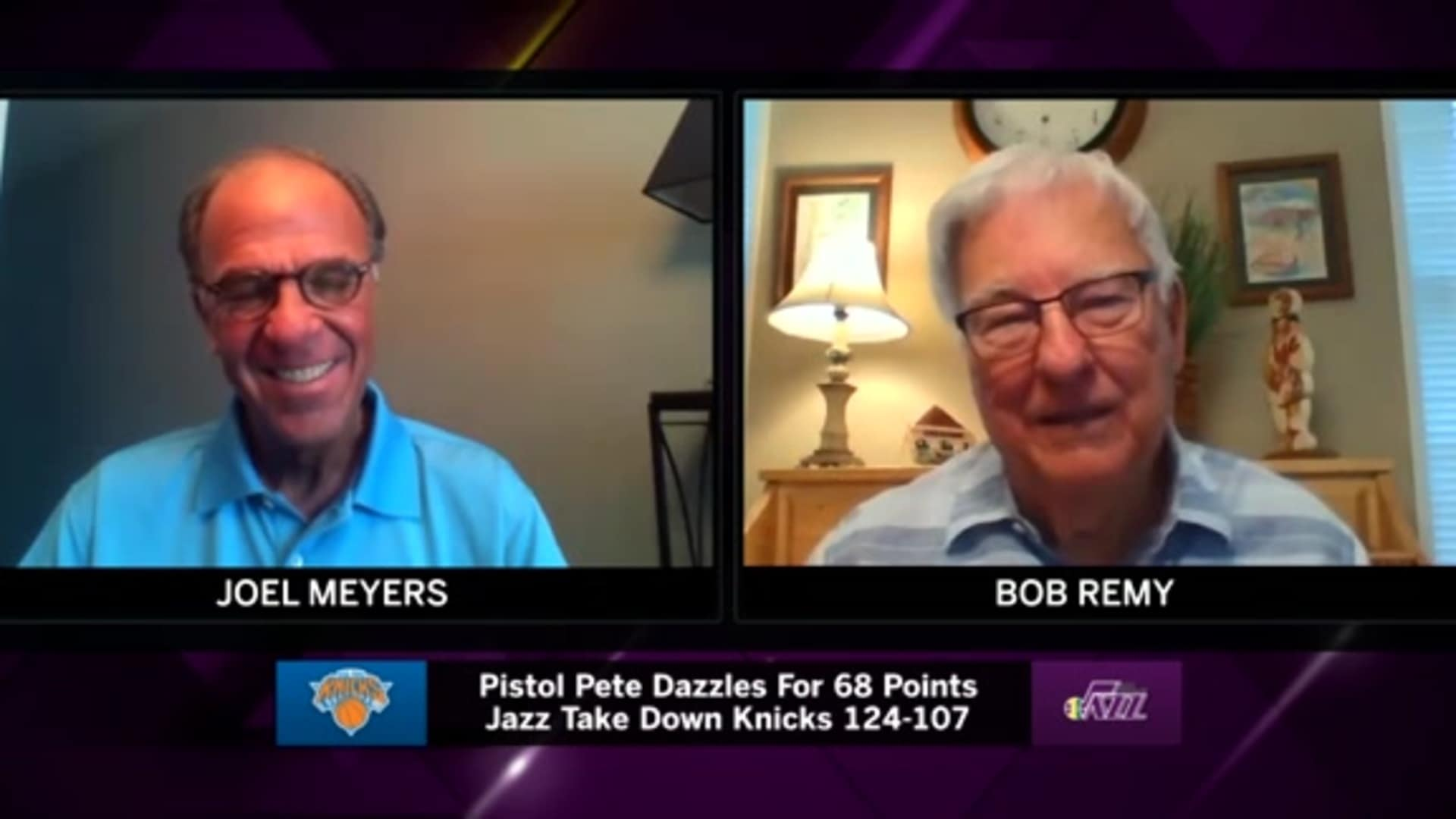 New Orleans Jazz official scorer Bob Remy remembers Pete Maravich's 68-point game