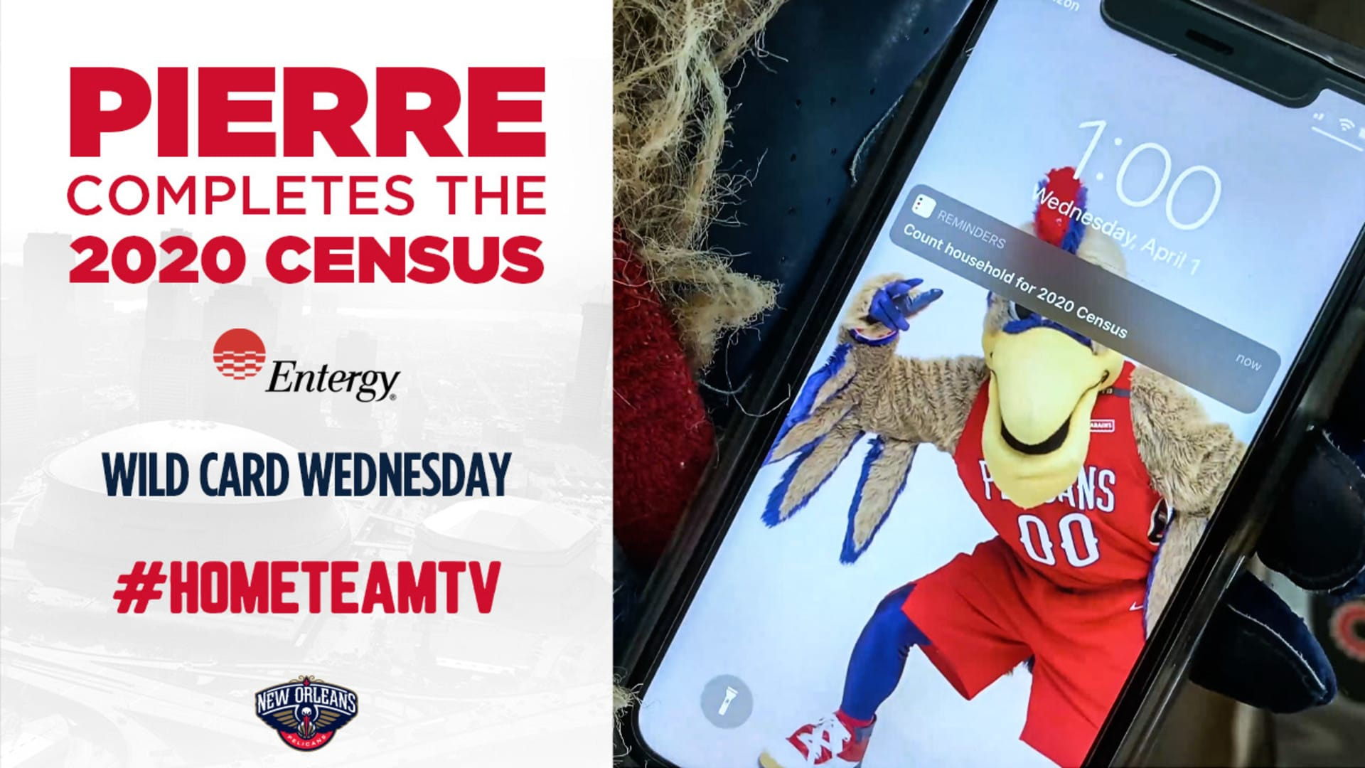 HomeTeamTV: Pierre completes 2020 census on Wild Card Wednesday, 5/20/20
