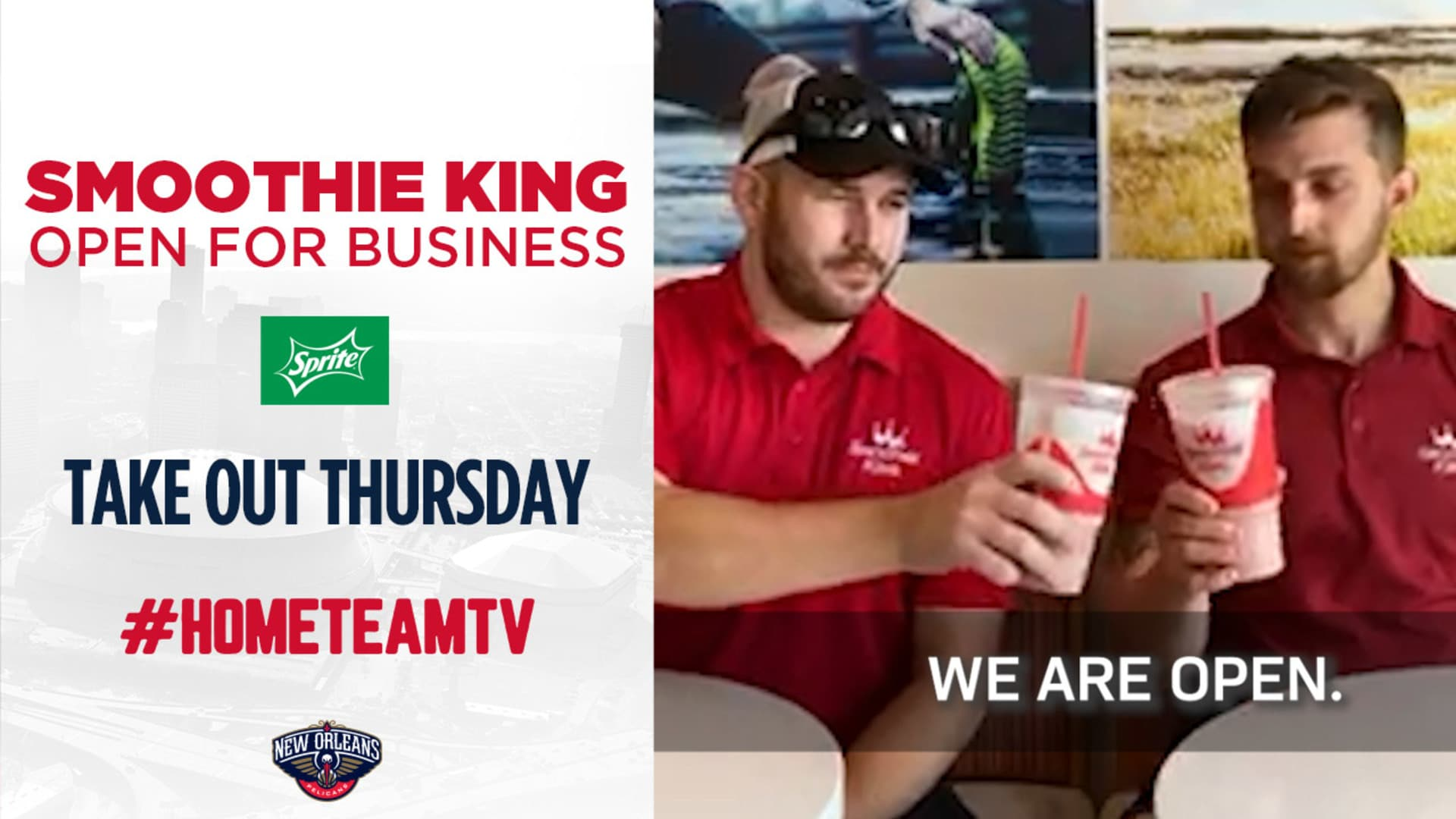 HomeTeamTV: Smoothie King options on Takeout Thursday, 5/28/20