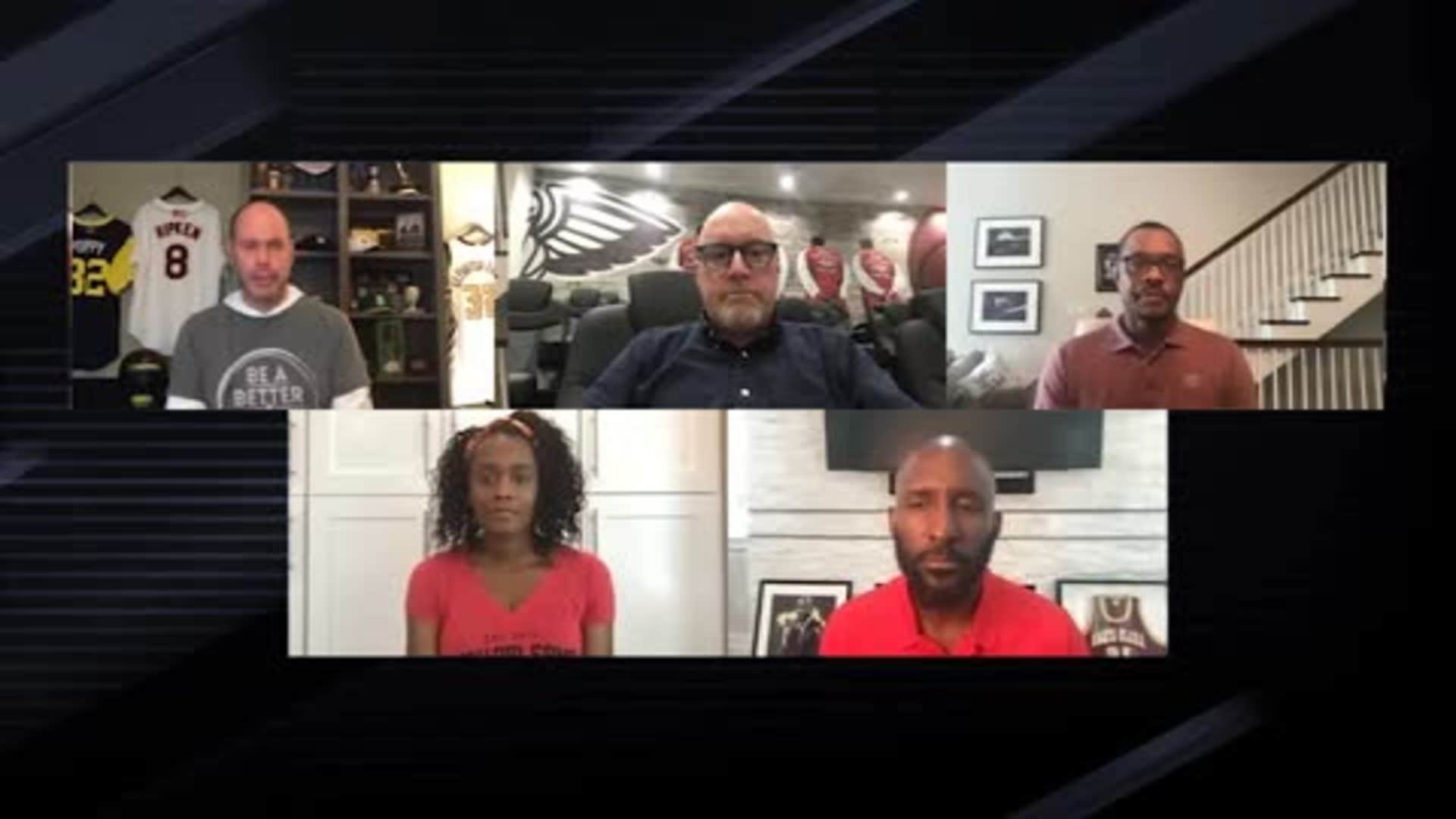 NBA Together: Ernie Johnson hosts roundtable with Swin Cash, David Griffin, and Alvin Gentry