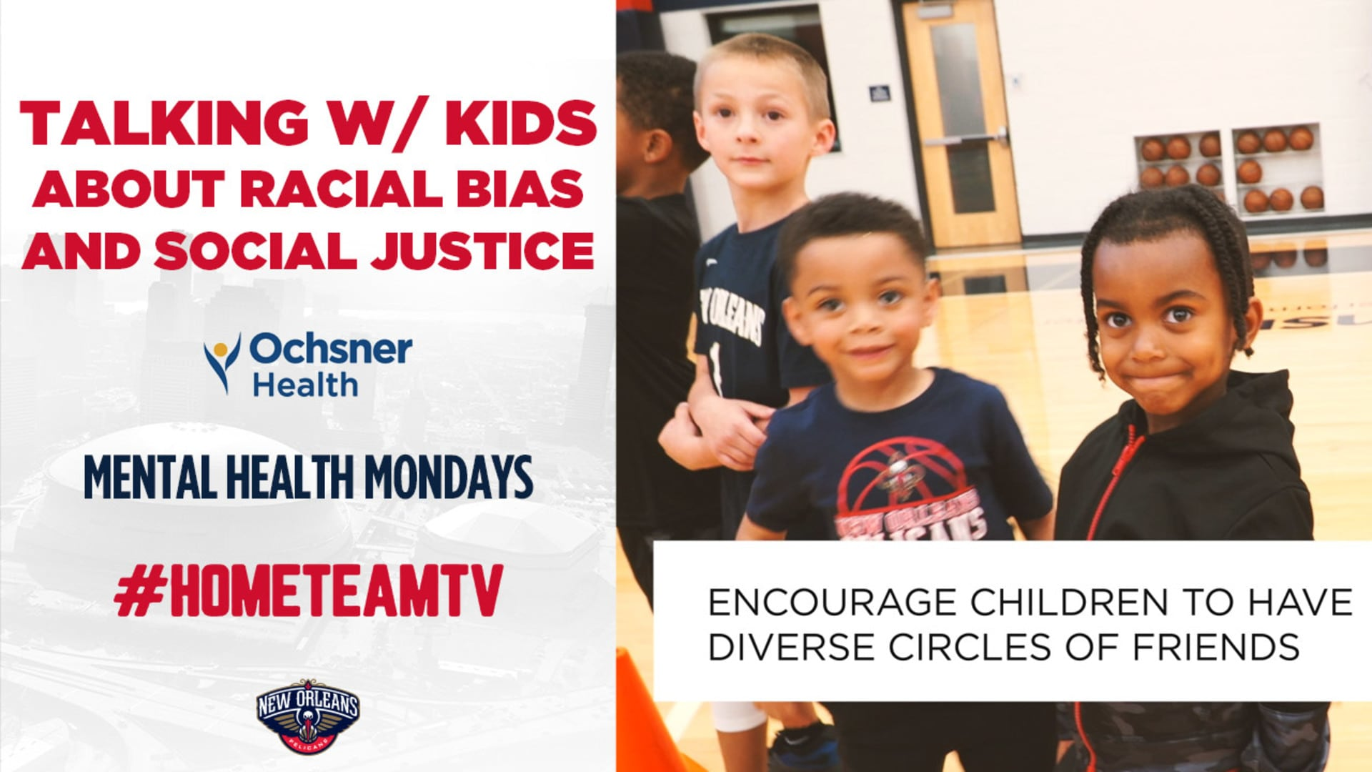 HomeTeamTV: Talking with children about racial bias and social justice, 6/8/20