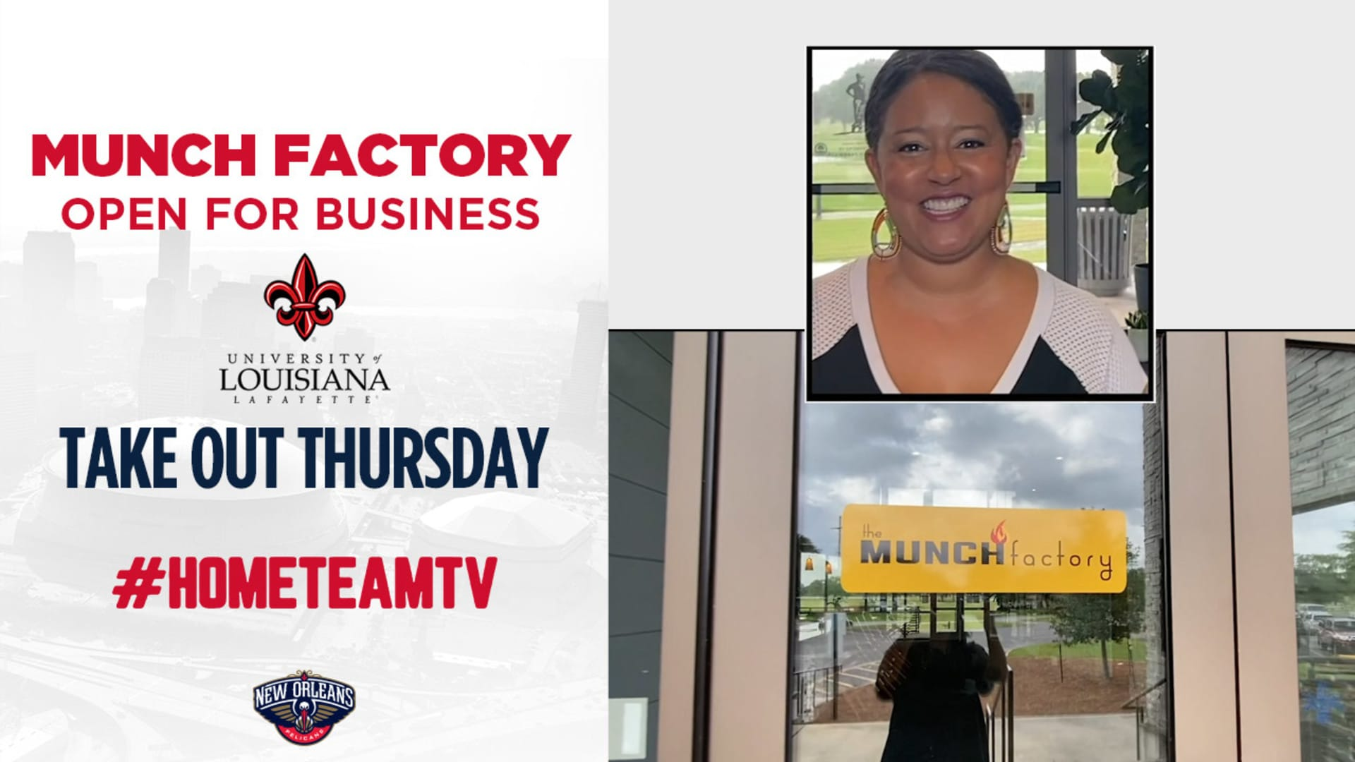 HomeTeamTV: Head to the Munch Factory for Takeout Thursday, 6/11/20