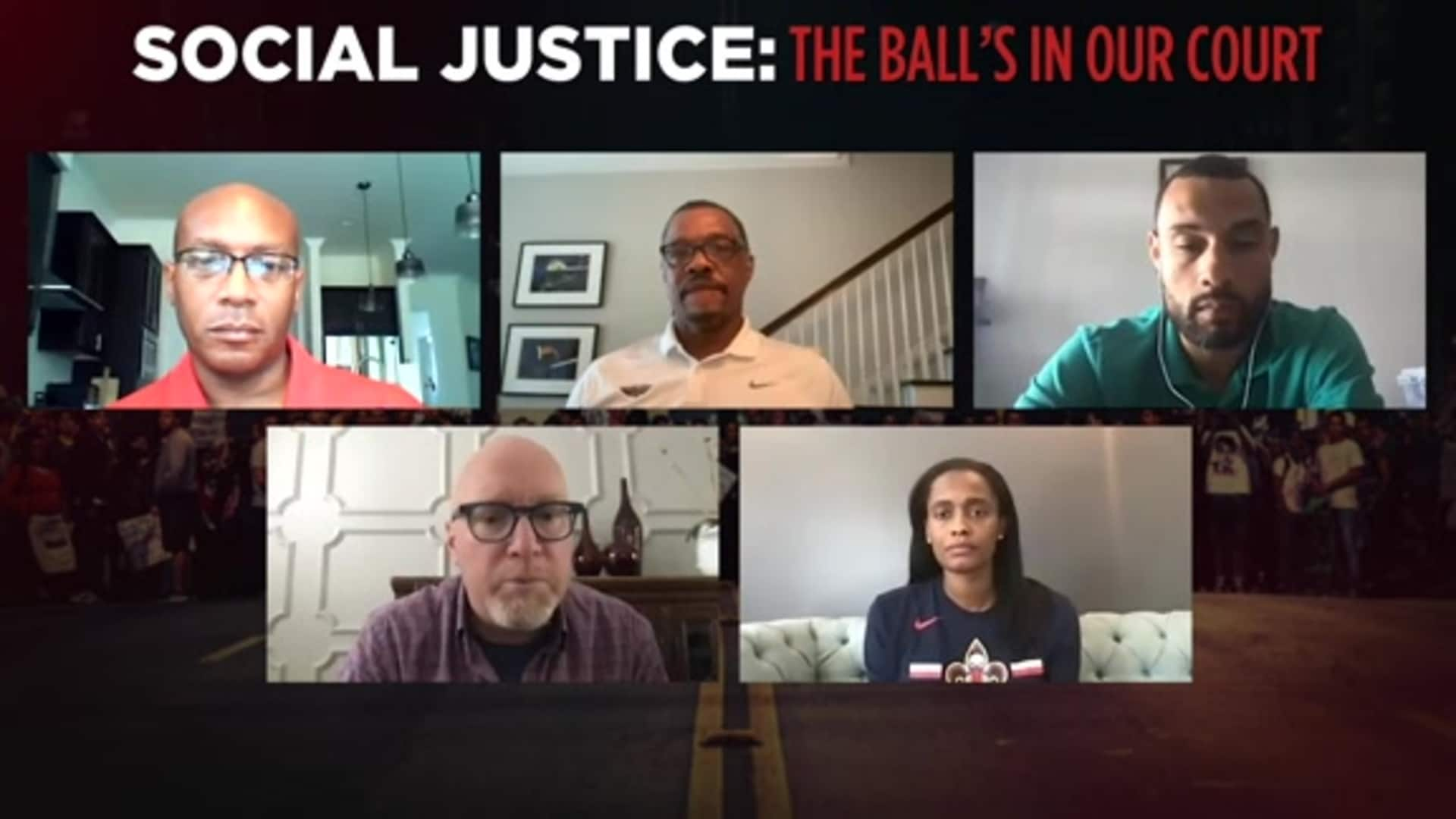 Pelicans Social Justice Roundtable on Juneteenth 2020