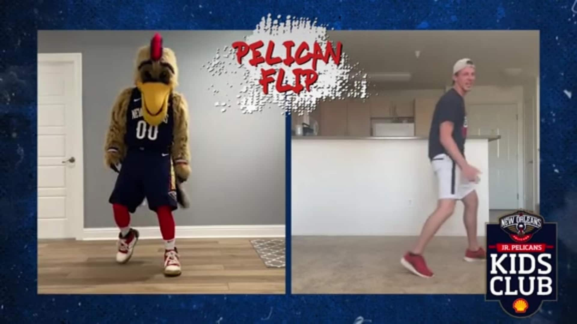 Pelicans Jr. Kids Club: Learn Breakdancing Moves with Pierre