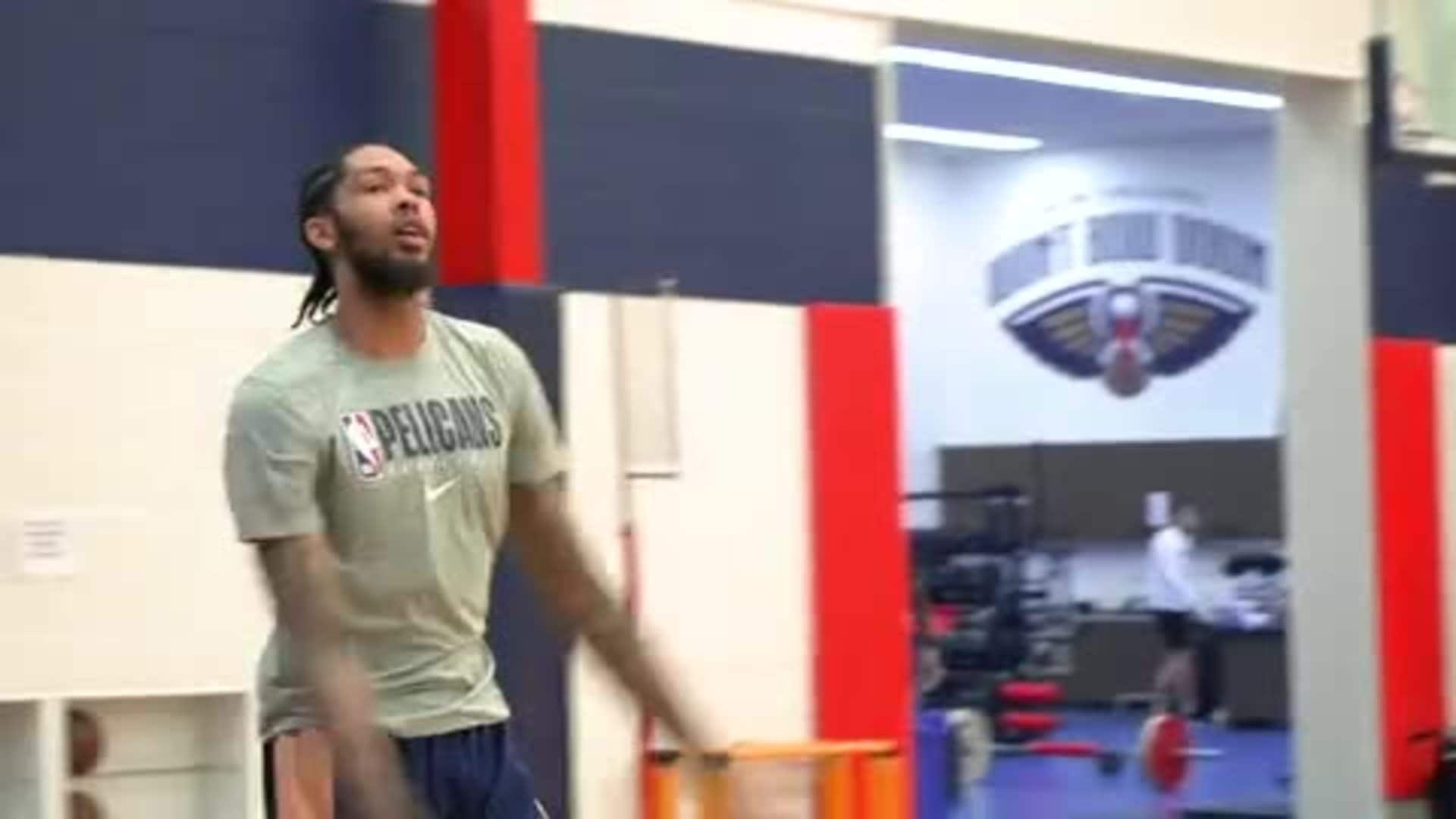 Pelicans Practice Highlights: Best of from Monday 7-6-20