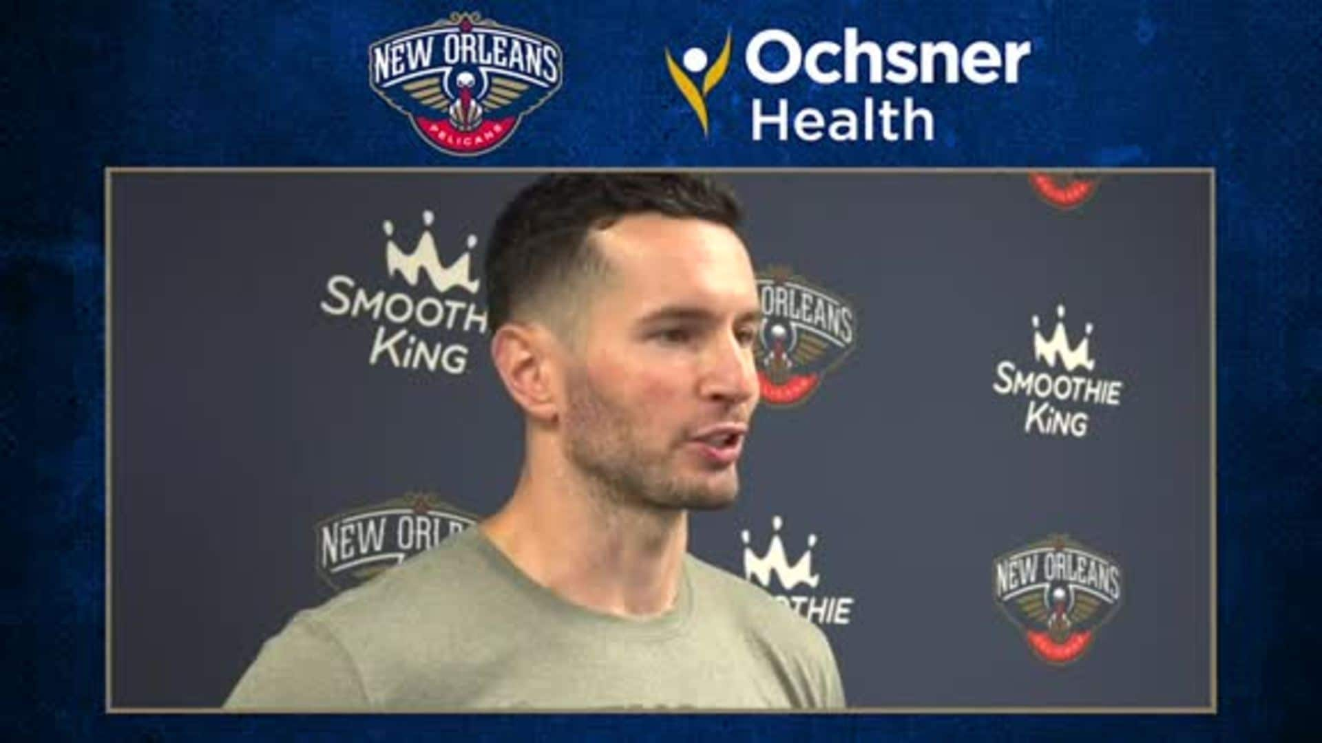 Pelicans Practice: JJ Redick talks about the defense being locked in