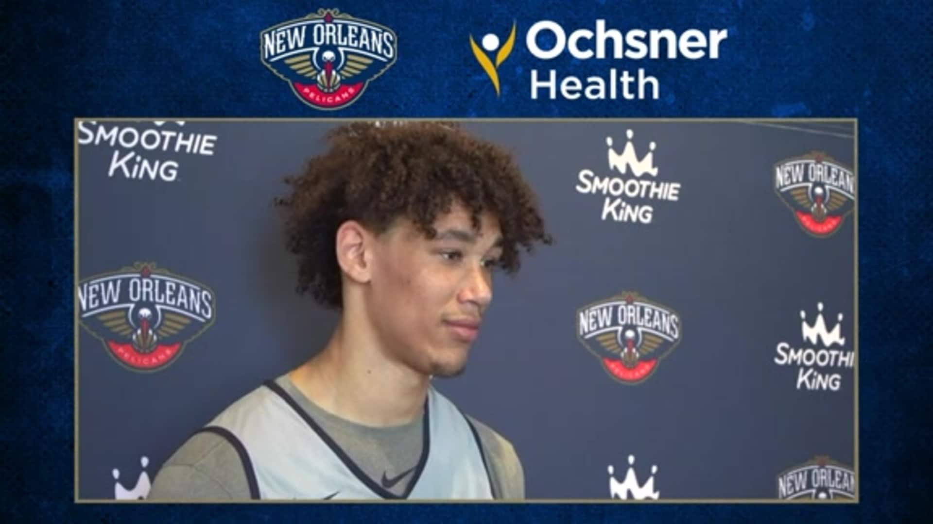 Pelicans Practice: Jaxson Hayes on improving the details of his game during quarantine