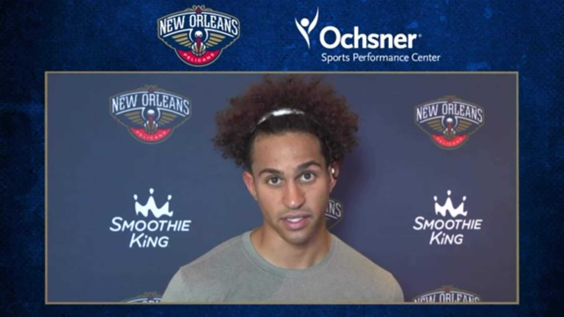 Pelicans Practice: Frank Jackson on the team coming together throughout the season
