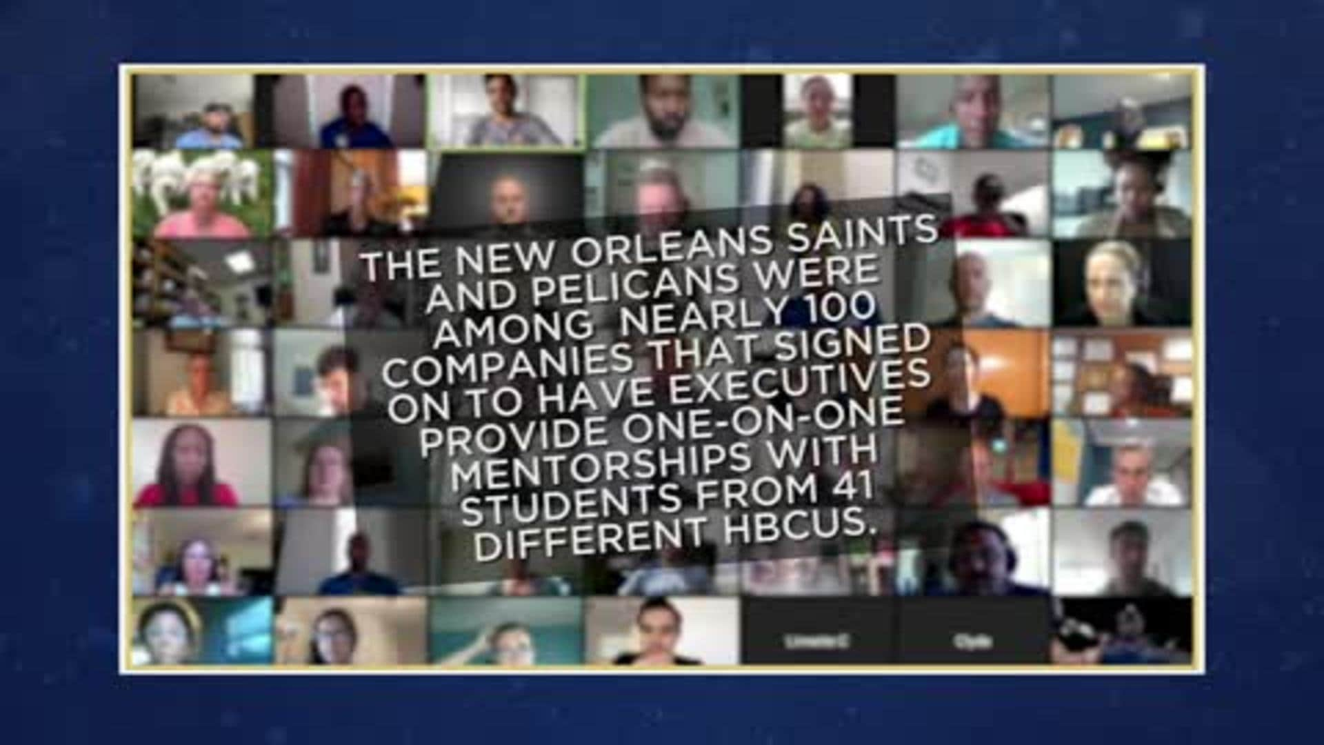 The Pelicans join forces with HBCU Office Hours