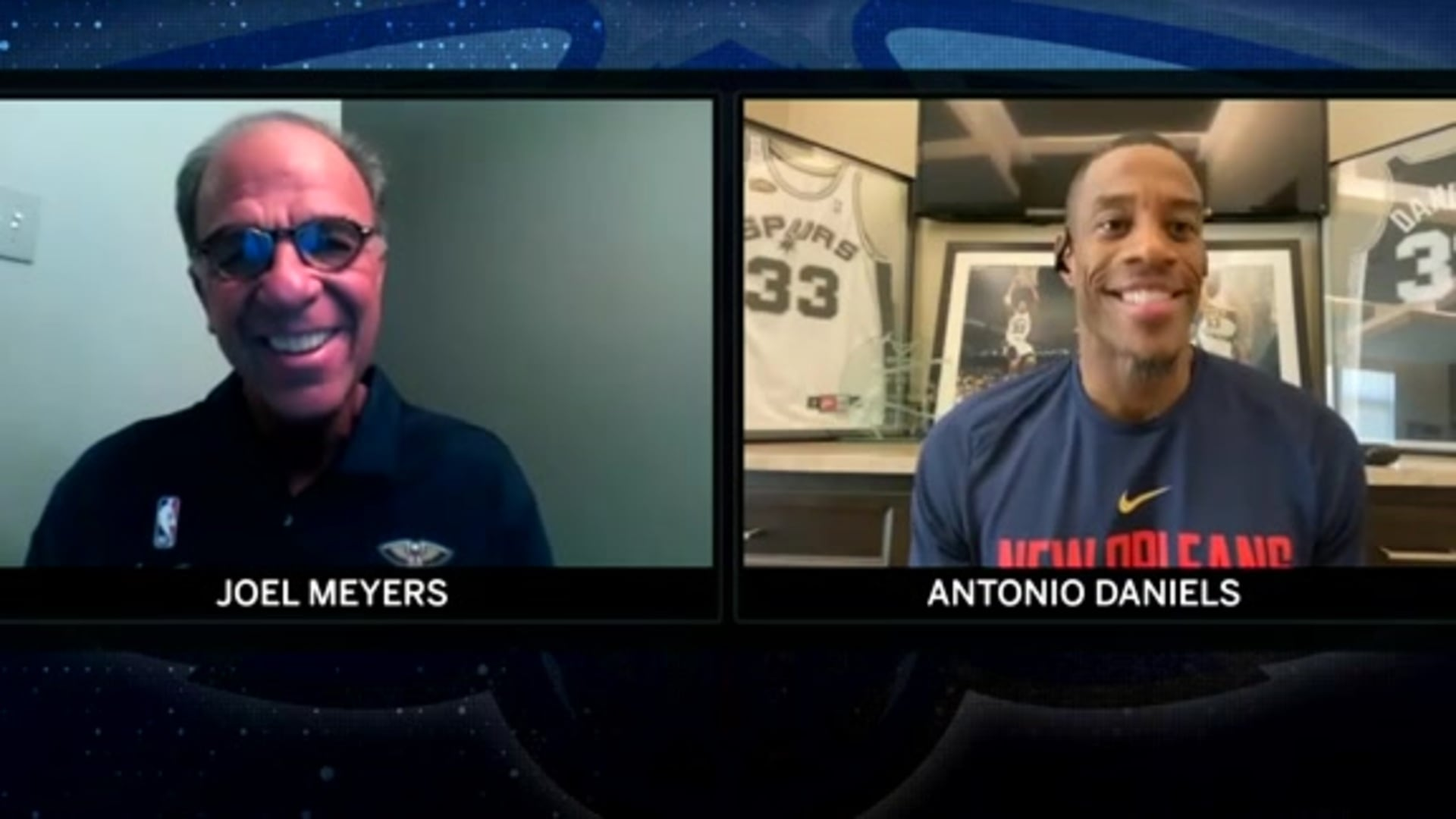 Joel Meyers & Antonio Daniels talk NBA bubble life ahead of Pelicans vs. Jazz