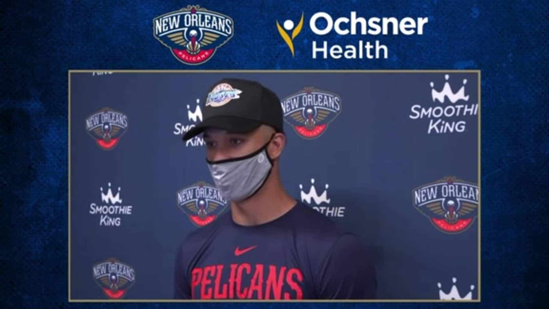 Josh Hart reflects on Jazz game and looks ahead to LA Clippers  | Ochsner Pelicans Practice