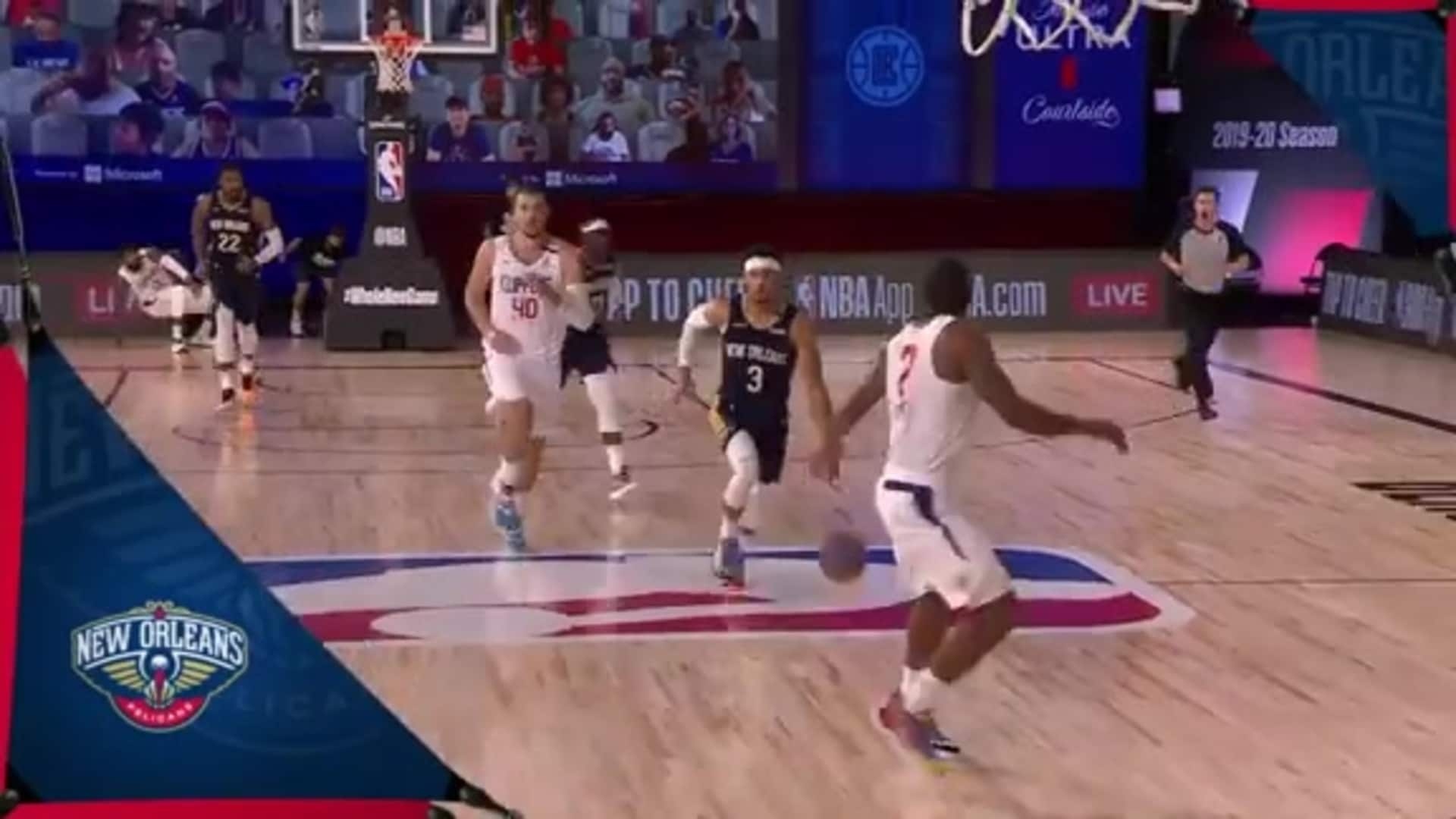 Pelicans Highlights: Josh Hart goes coast to coast