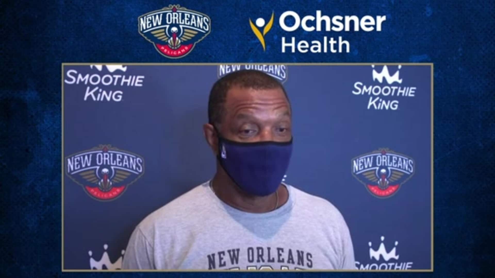 Alvin Gentry talks limiting turnovers, keys to success vs. Grizzlies | Ochsner Pelicans Practice