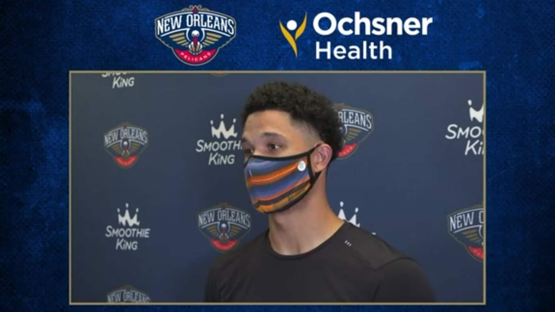 Pelicans Postgame Interview: Josh Hart on bounce-back win vs. Memphis Grizzlies