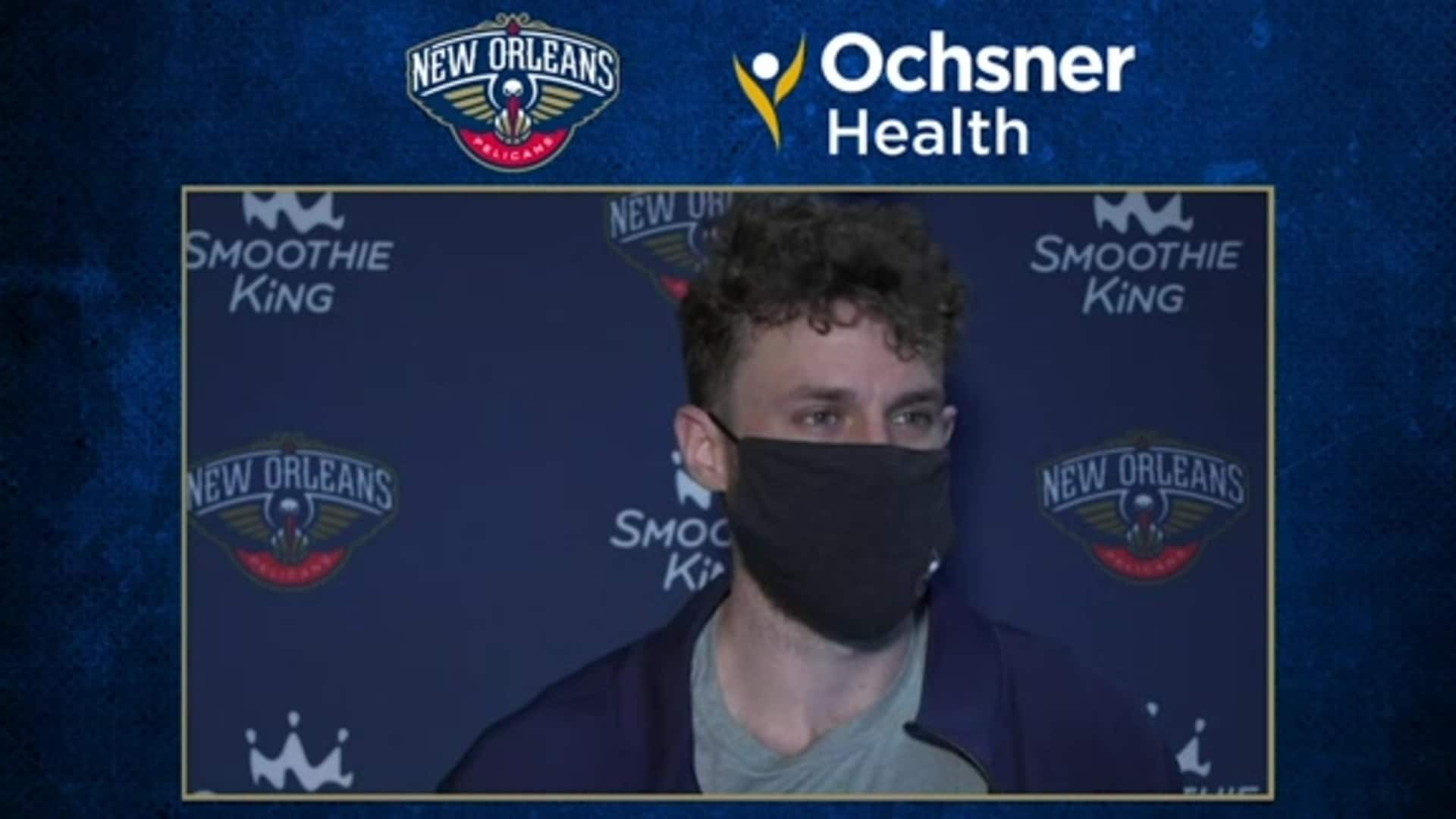 Nicolò Melli postgame interview (8/7/20) | Pelicans-Wizards