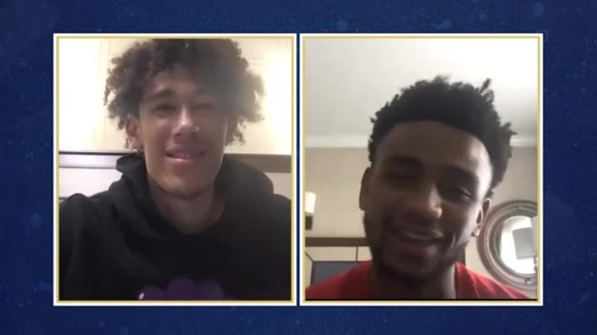 Pelicans Bubble Talk with Jaxson Hayes & Nickeil Alexander-Walker