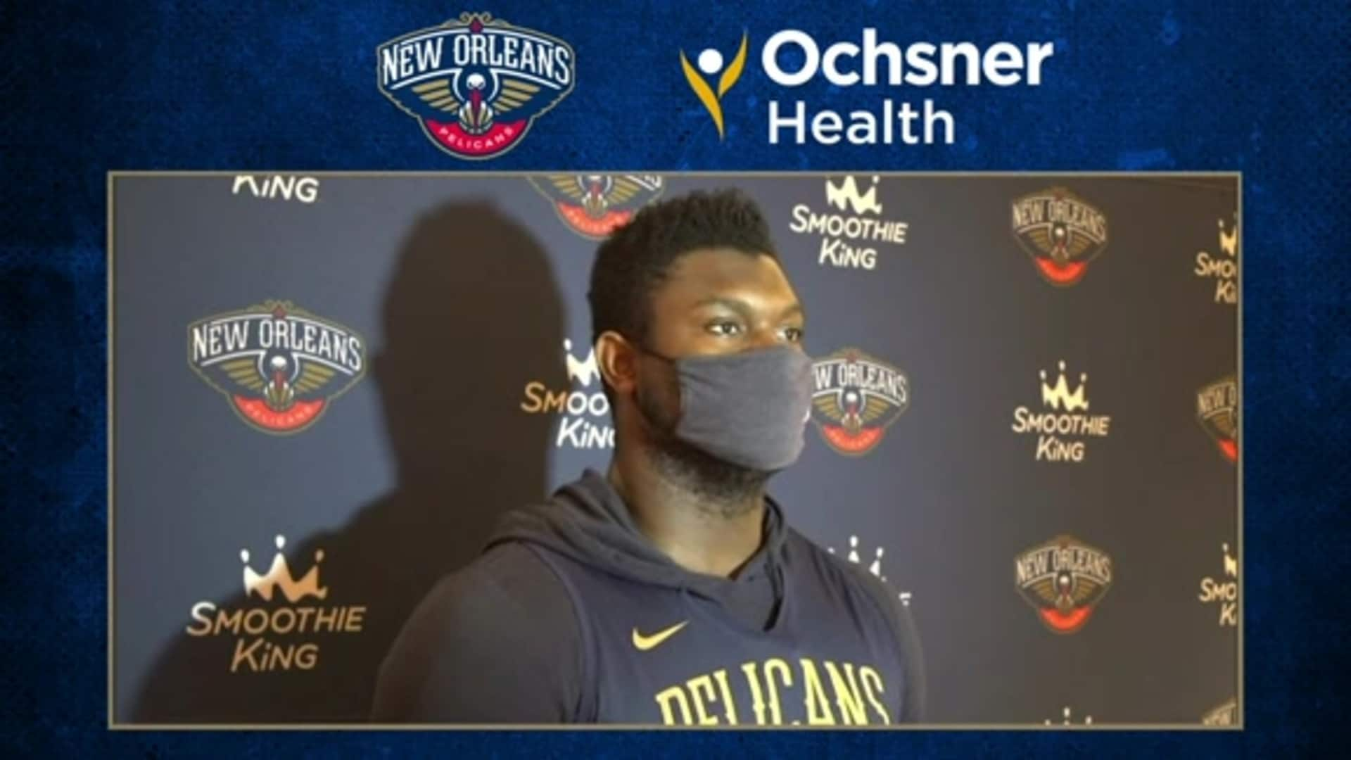 Zion Williamson talks about what his focus will be during the upcoming offseason | Pelicans Shootaround