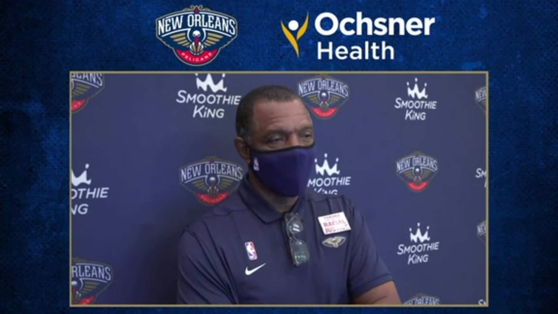 Alvin Gentry postgame interview (8/13/20) | Pelicans-Magic