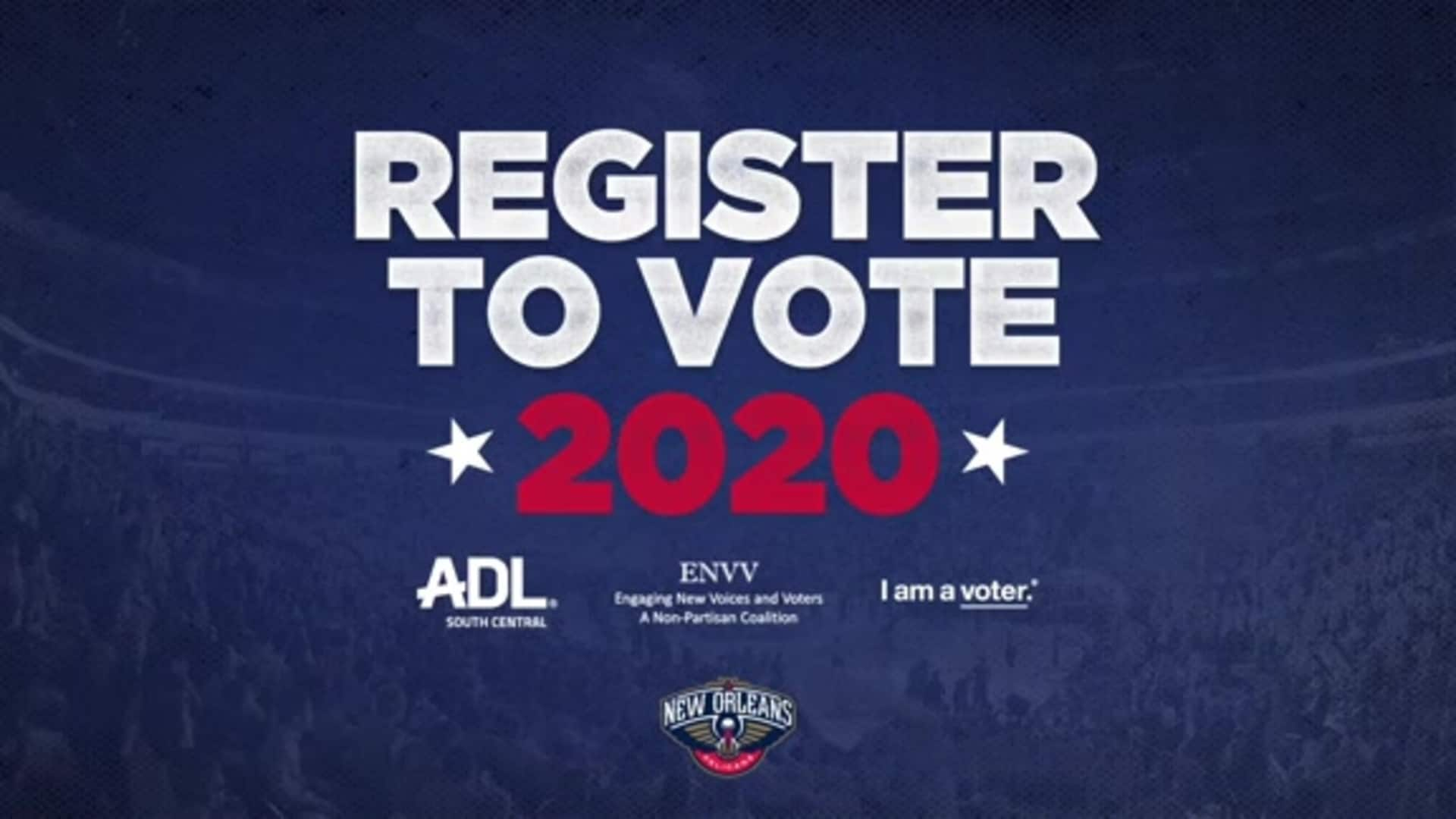 National Voter Registration Day: Zion Williamson shares ways to make your voice heard